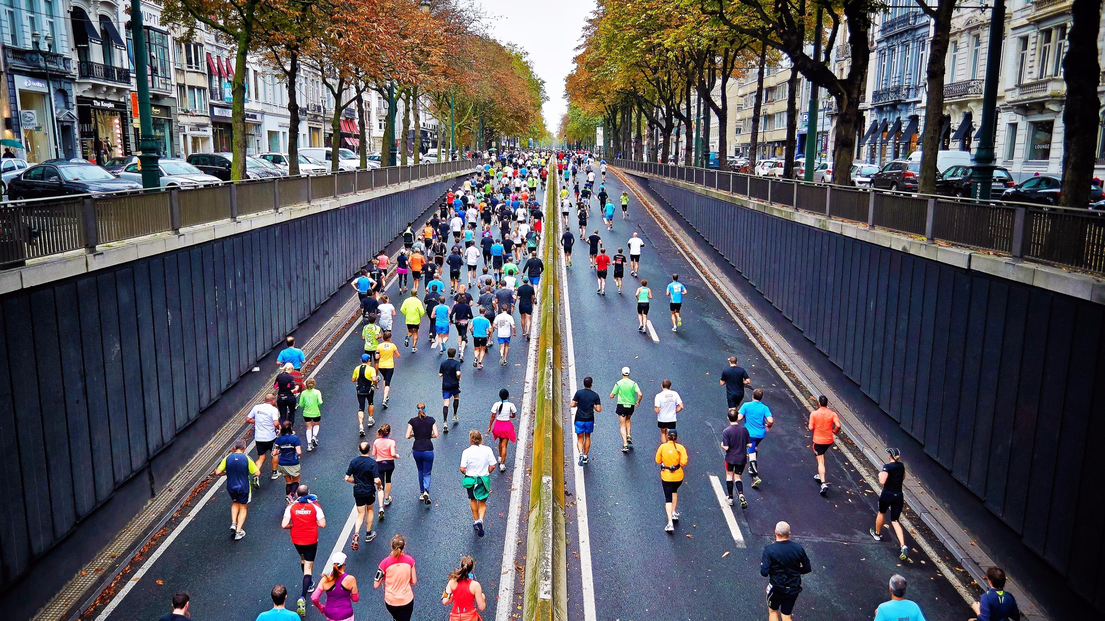 City Marathon race wallpaper