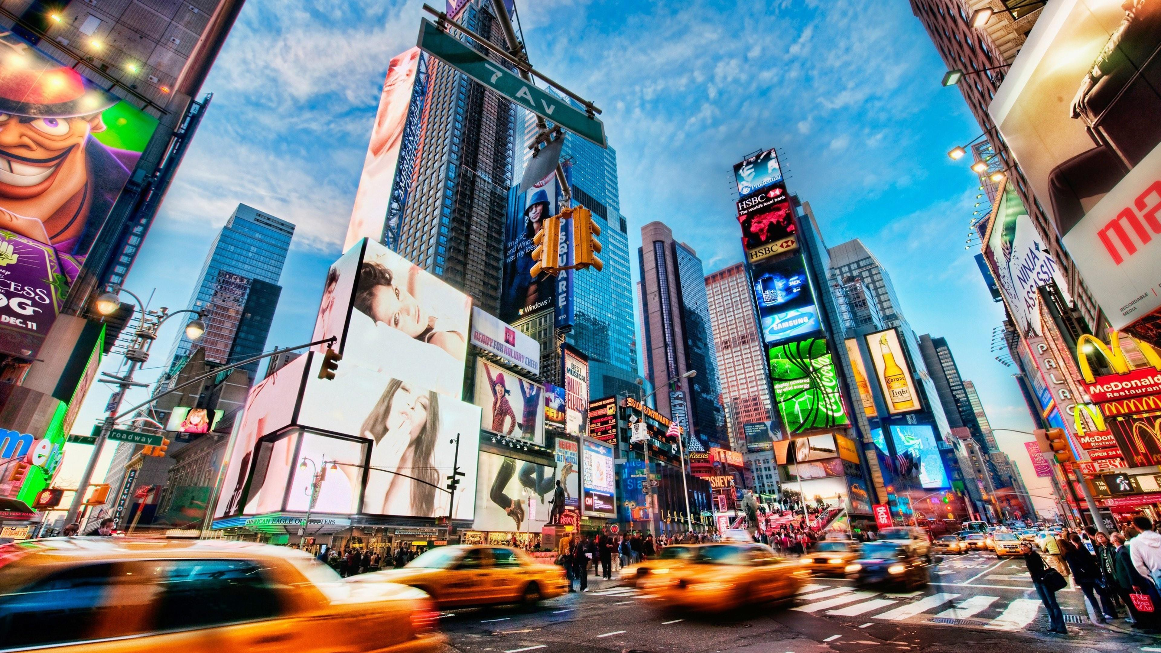 Times Square NYC wallpaper