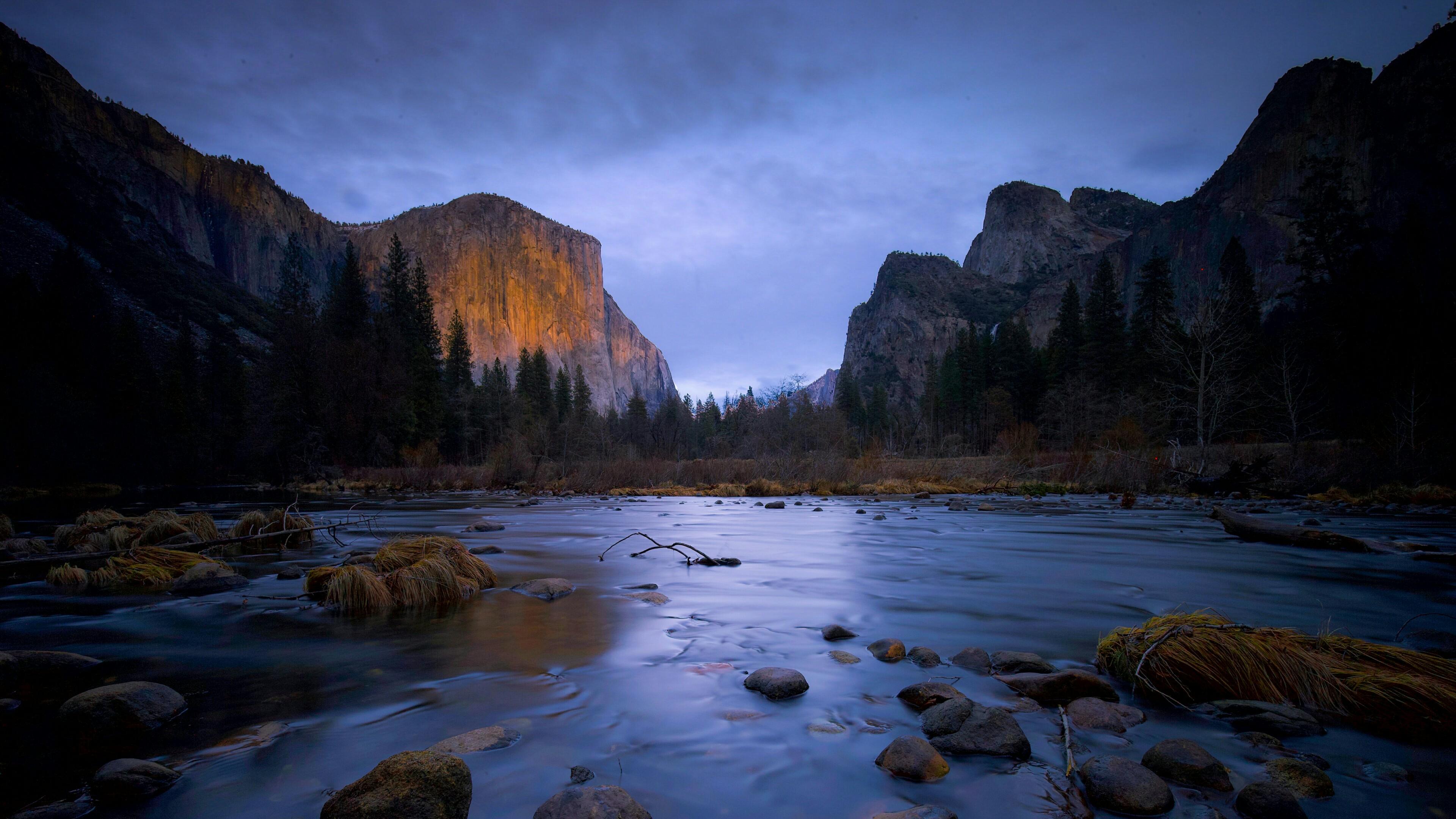 Yosemite Valley Tunnel View wallpaper