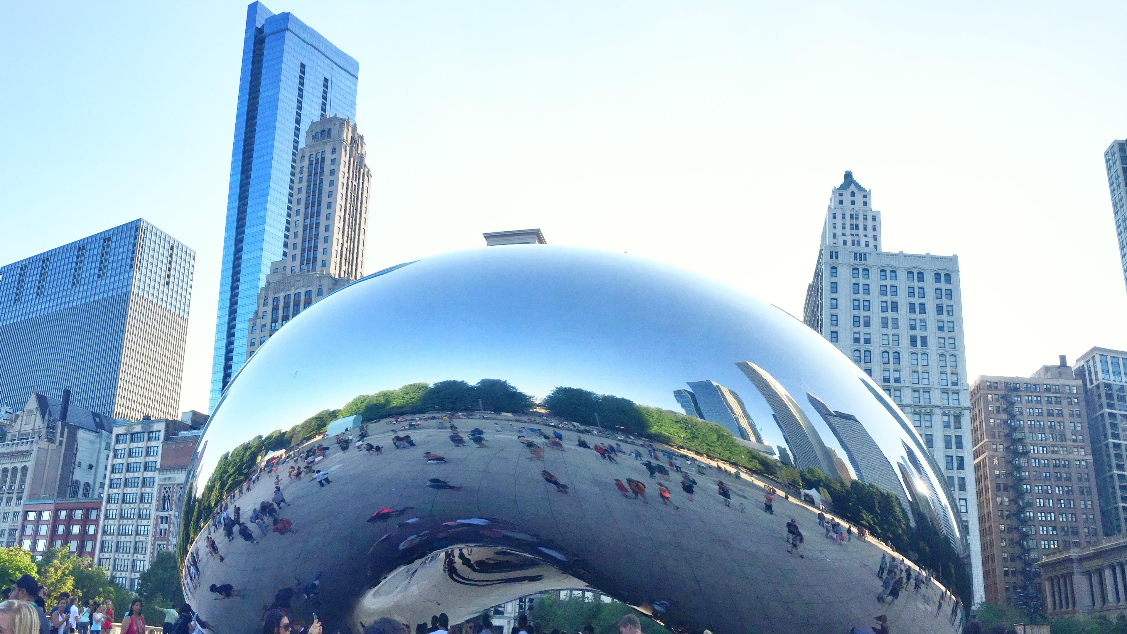 Bean, Millennium Park Chicago wallpaper
