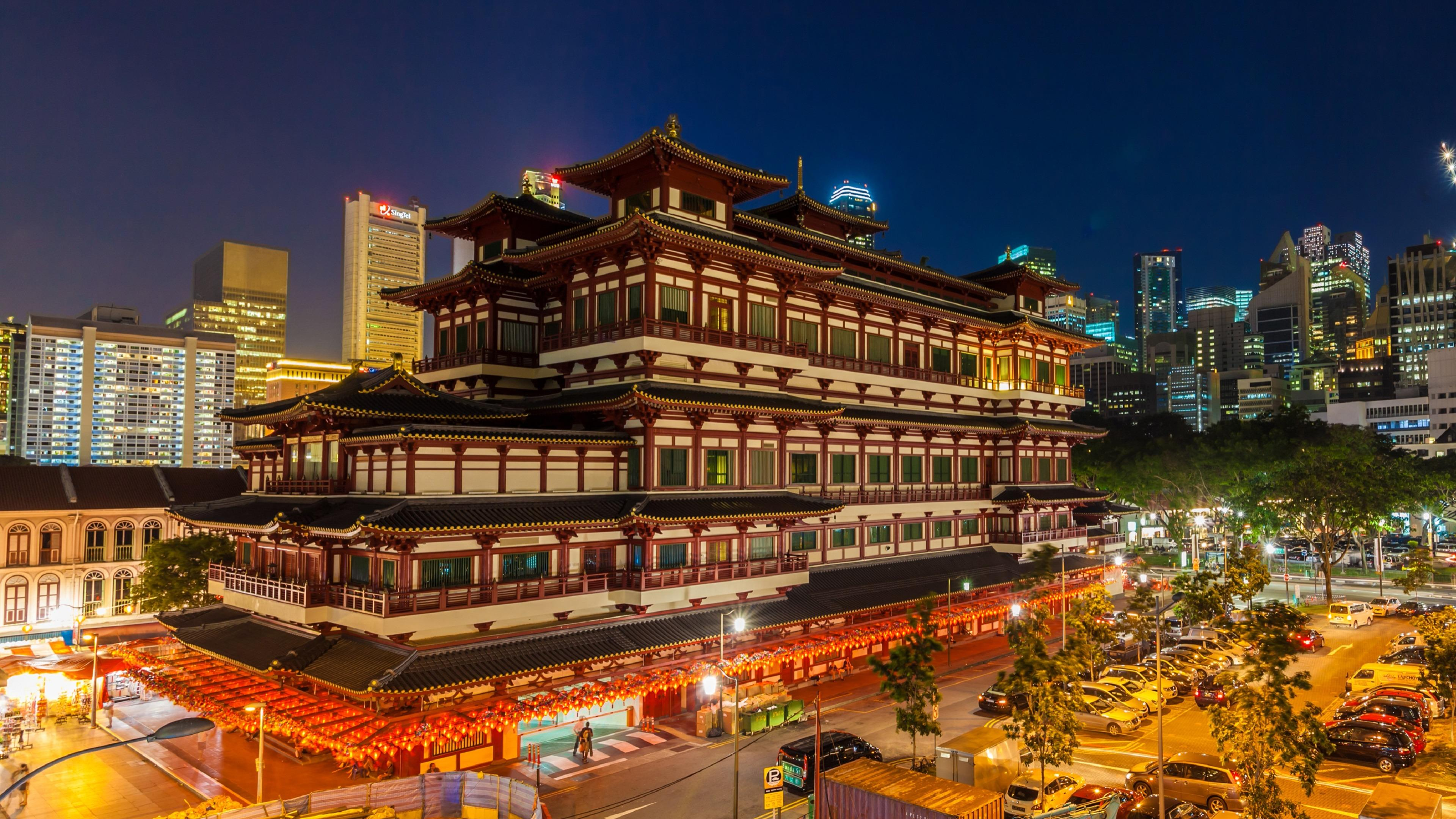 Buddha Tooth Relic Temple and Museum wallpaper