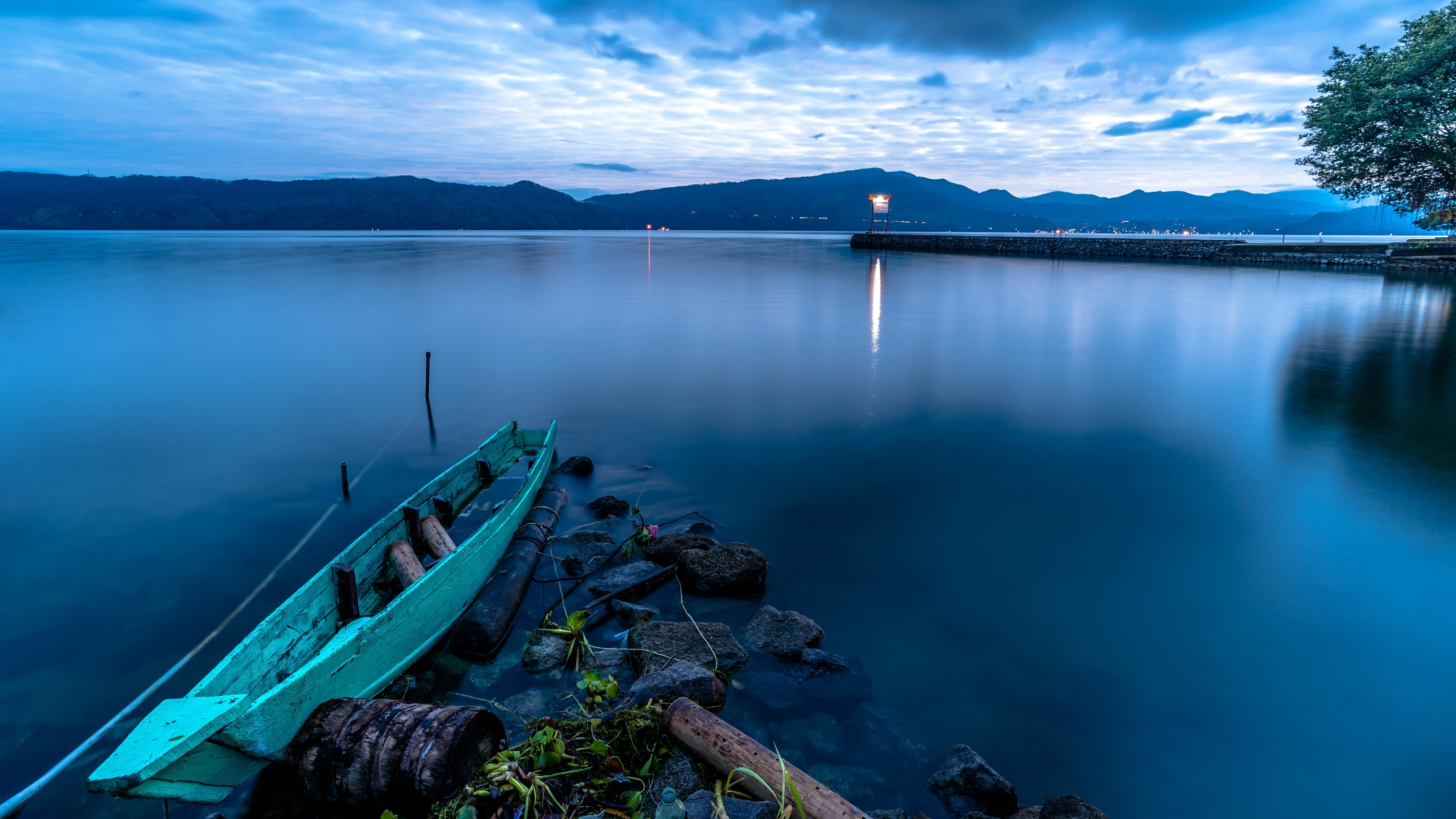 Lake Toba (Danau Toba) from Samosir Island wallpaper