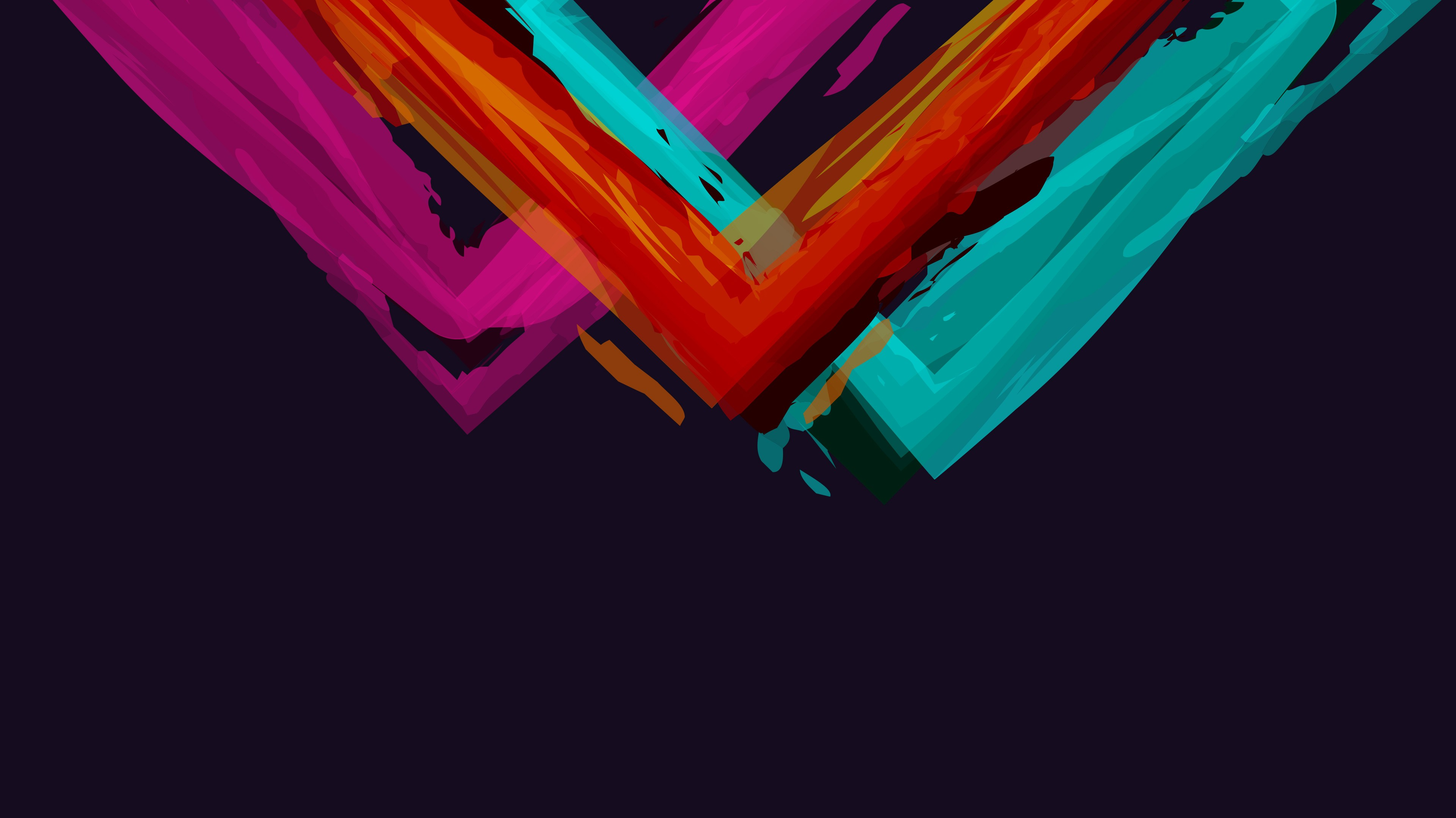 Minimalistic abstract colour background wallpaper
