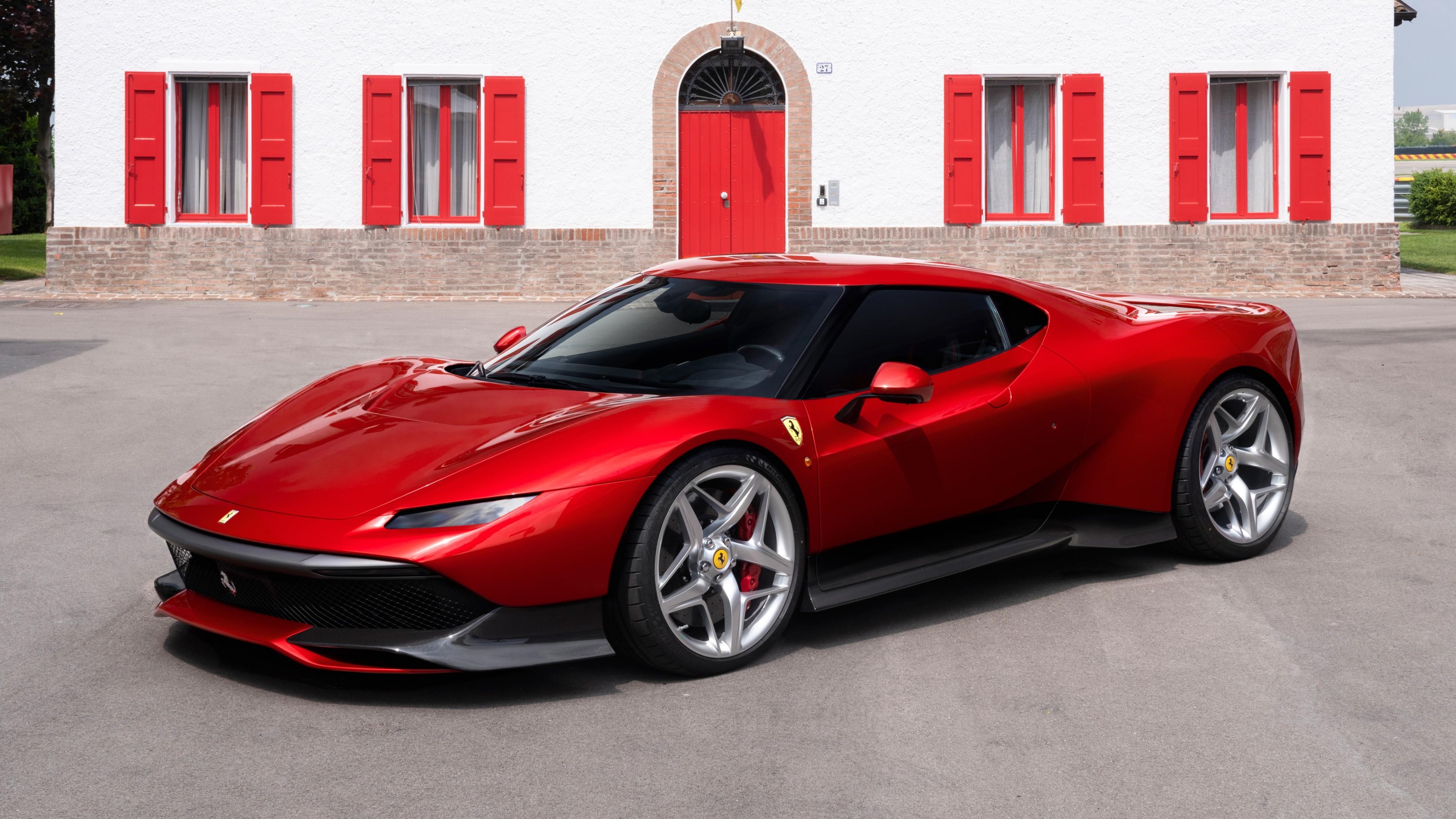 Ferrari Sp38 4k Ultrahd Wallpaper Backiee Free Ultra