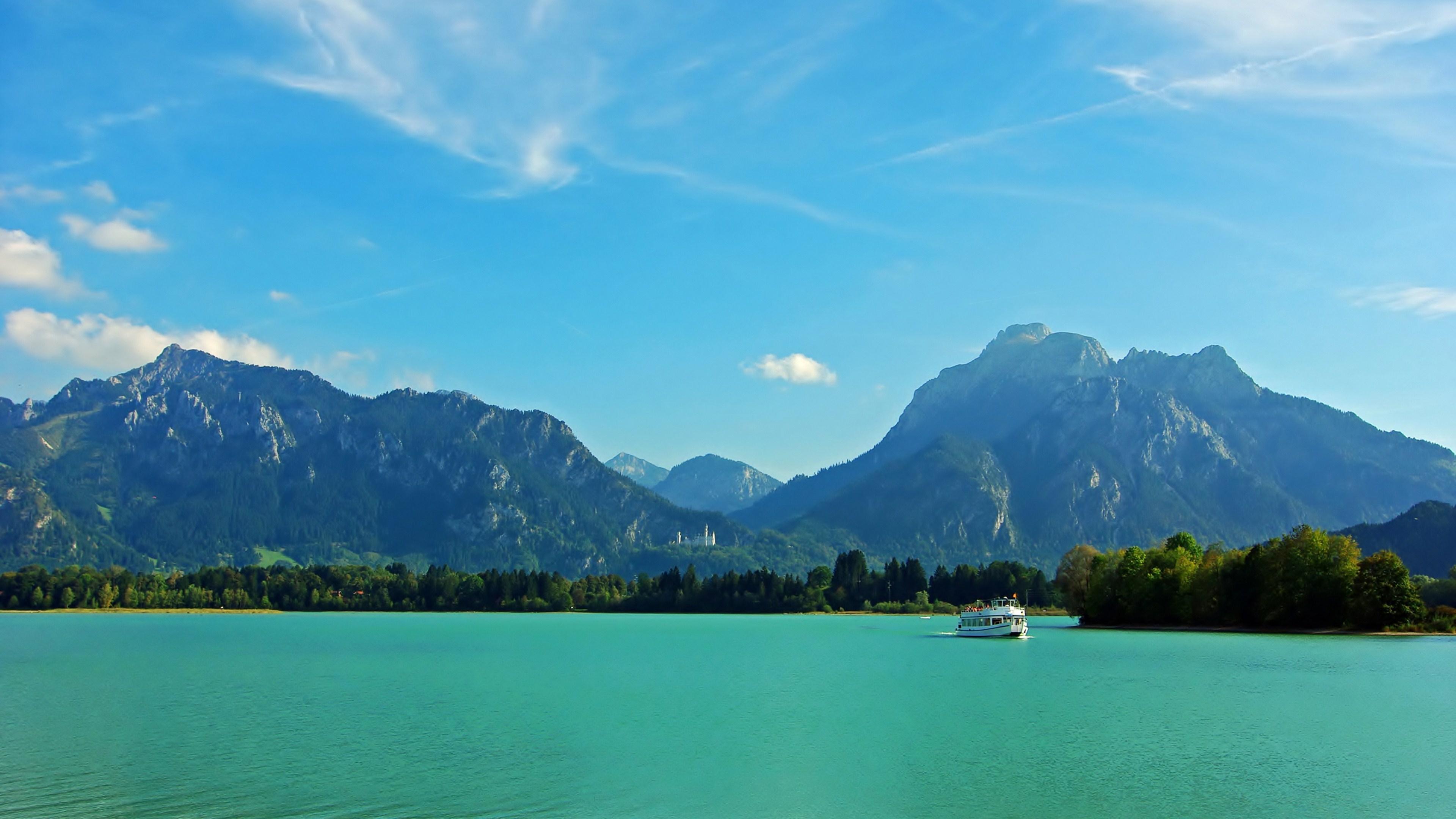 Alpsee Lake (Bavaria) wallpaper