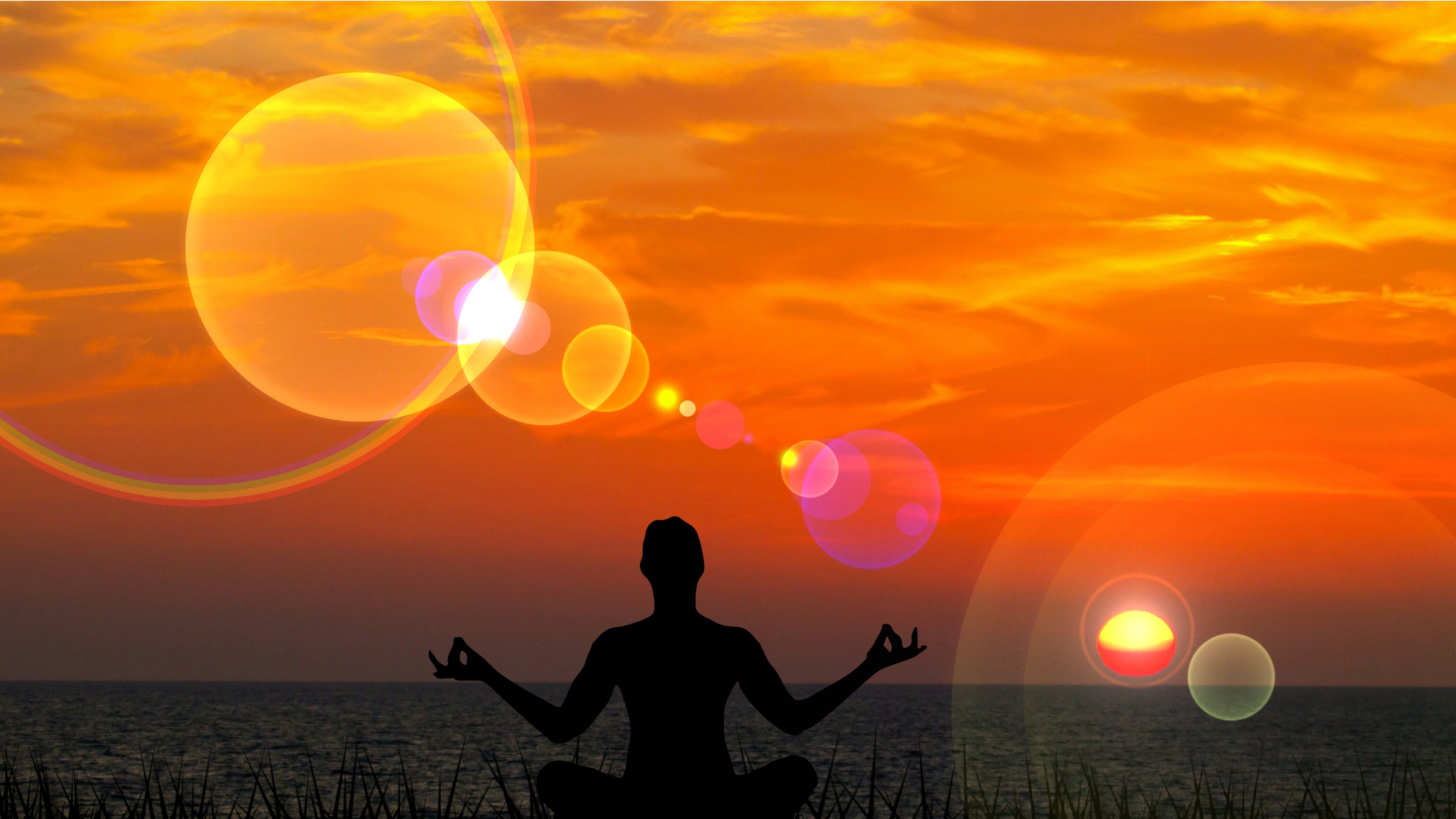 Yoga relax wallpaper