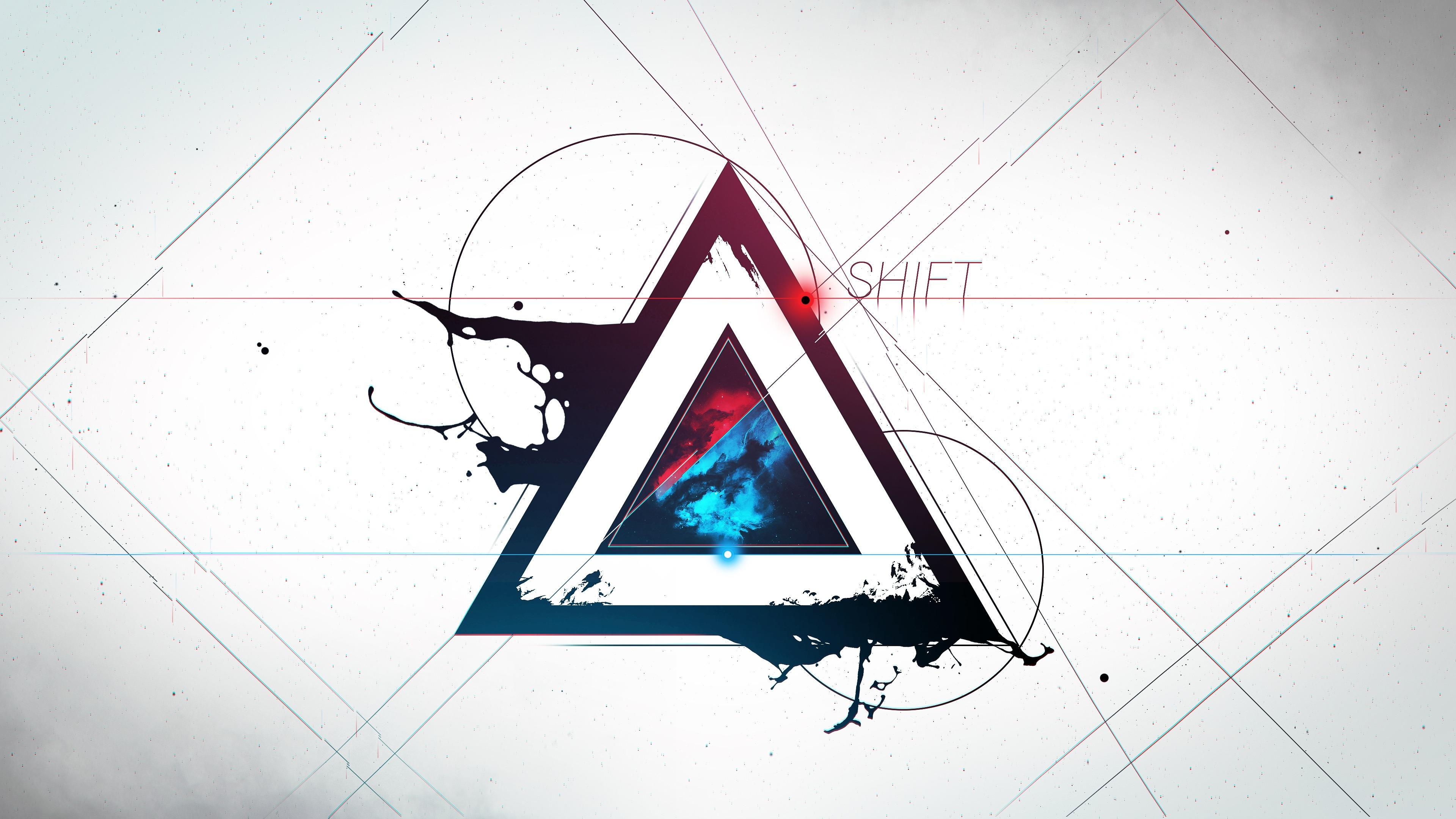 Shift Triangle wallpaper