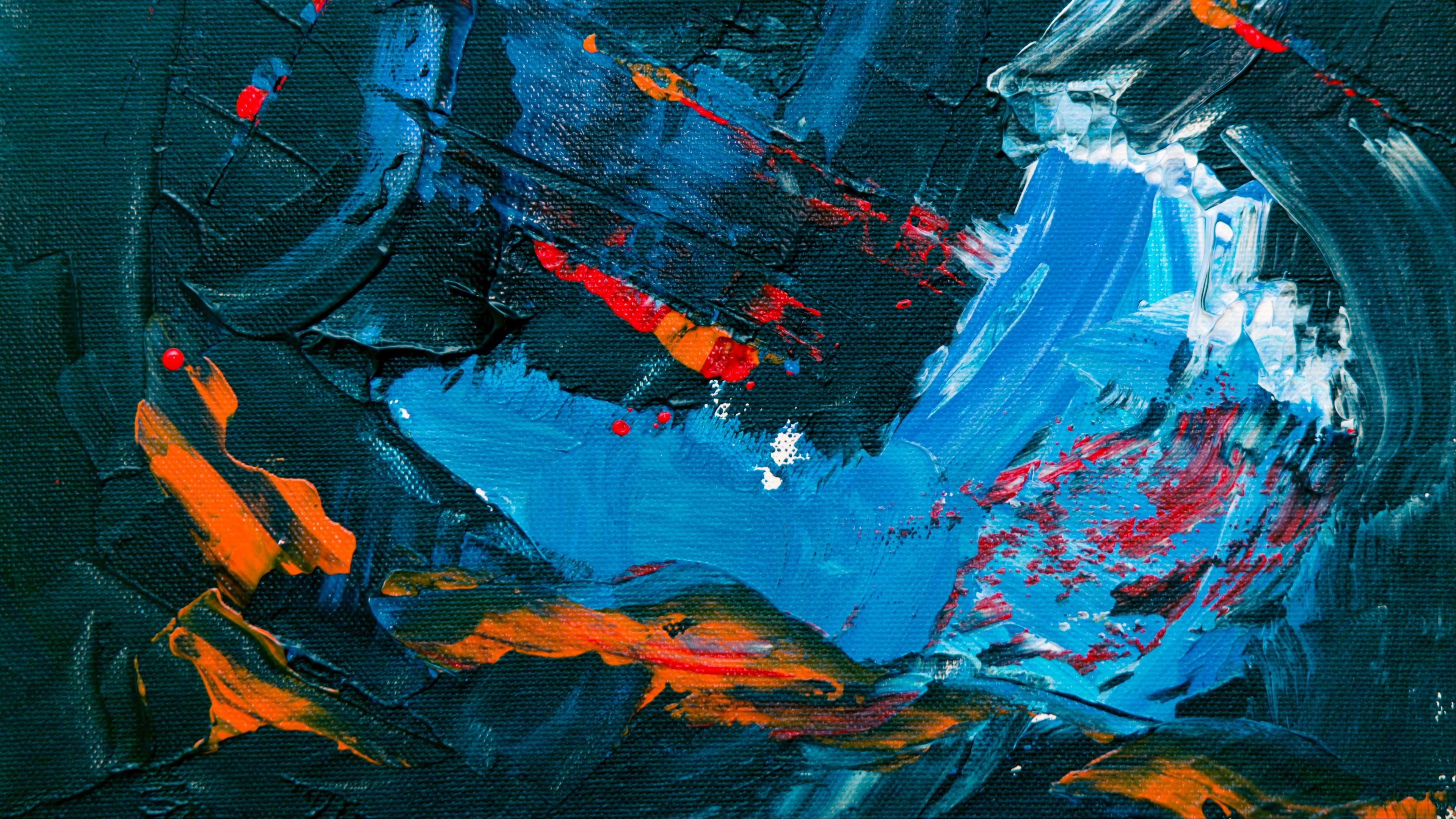 Modern abstract painting artwork wallpaper