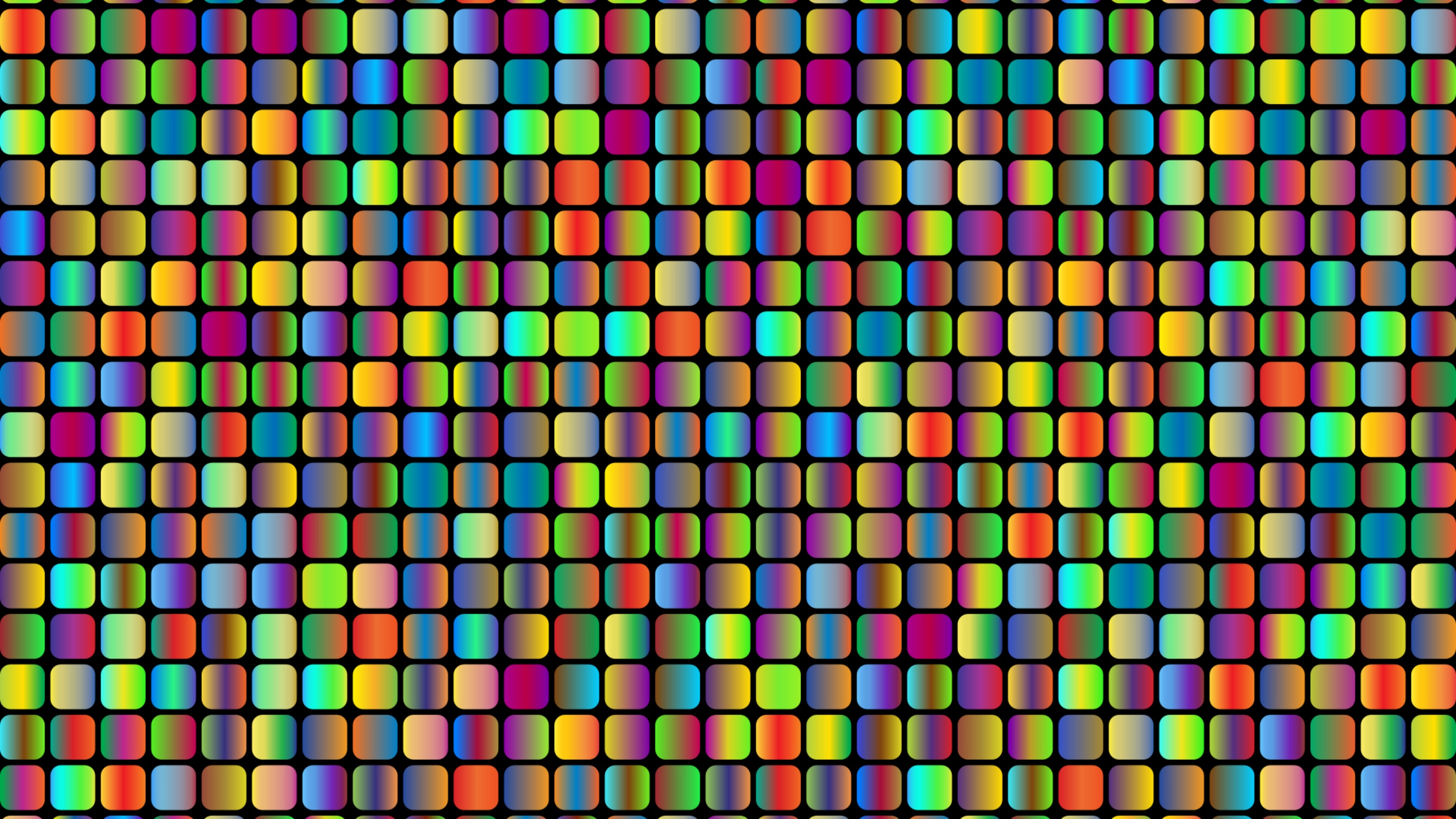 Colorful mosaic design wallpaper