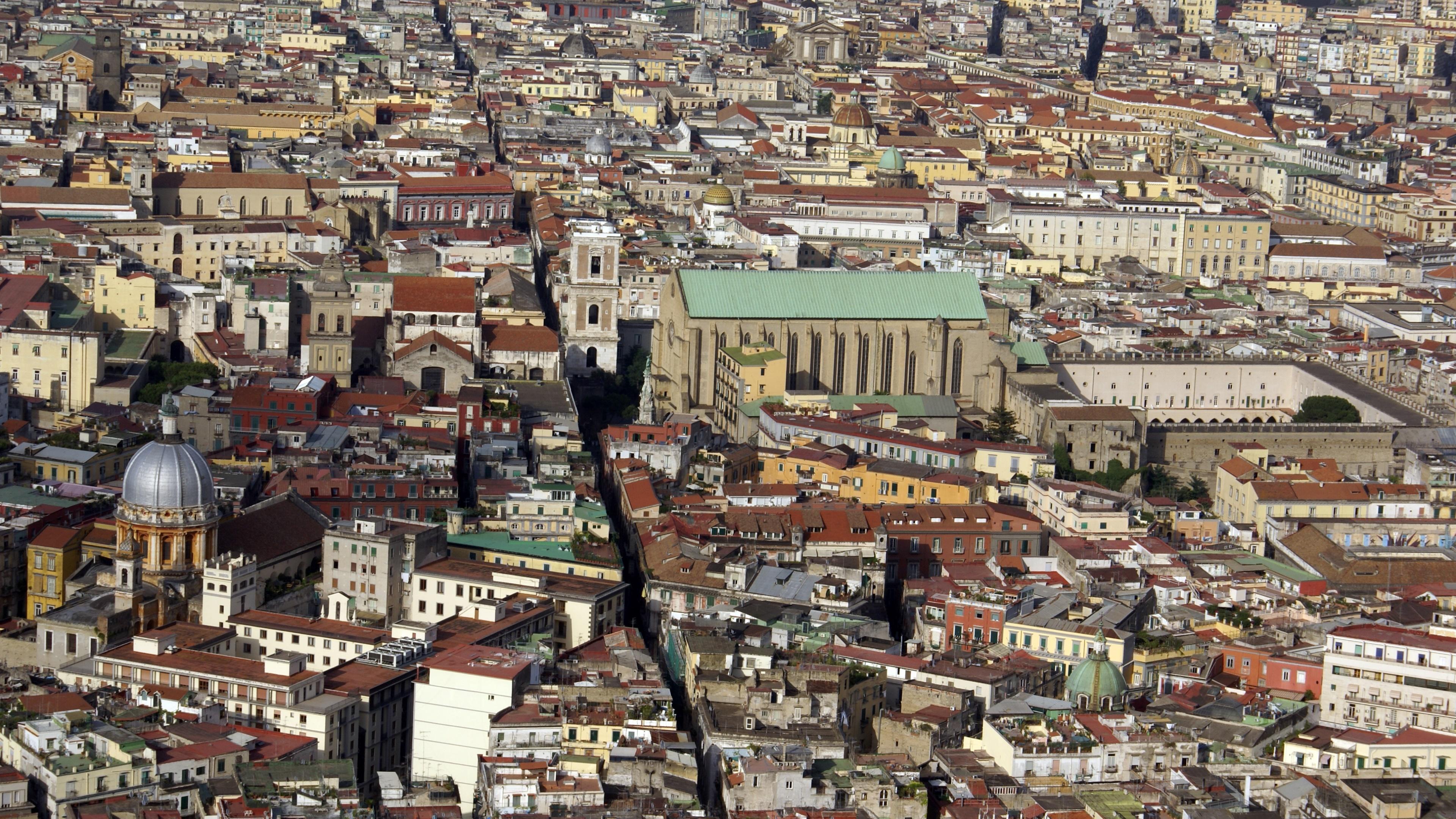 Naples Cityscape wallpaper