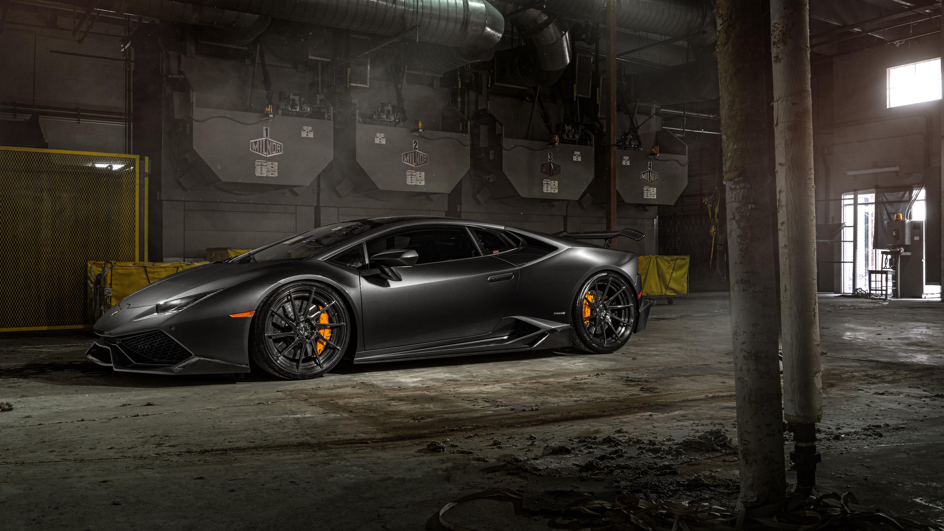 Black Lamborghini Huracan 4k Ultrahd Wallpaper Backiee Free
