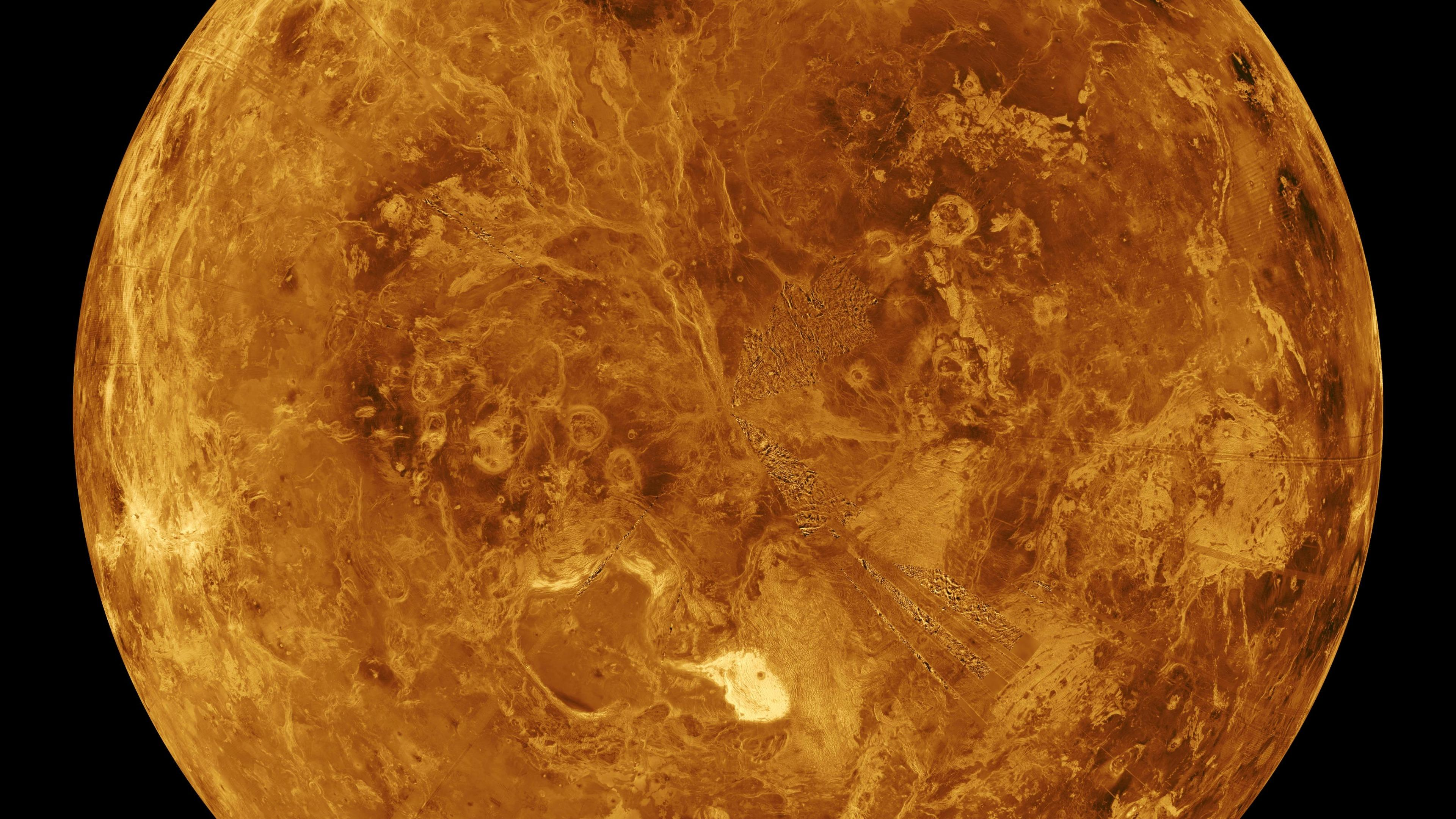 The Northern Hemisphere of Venus wallpaper