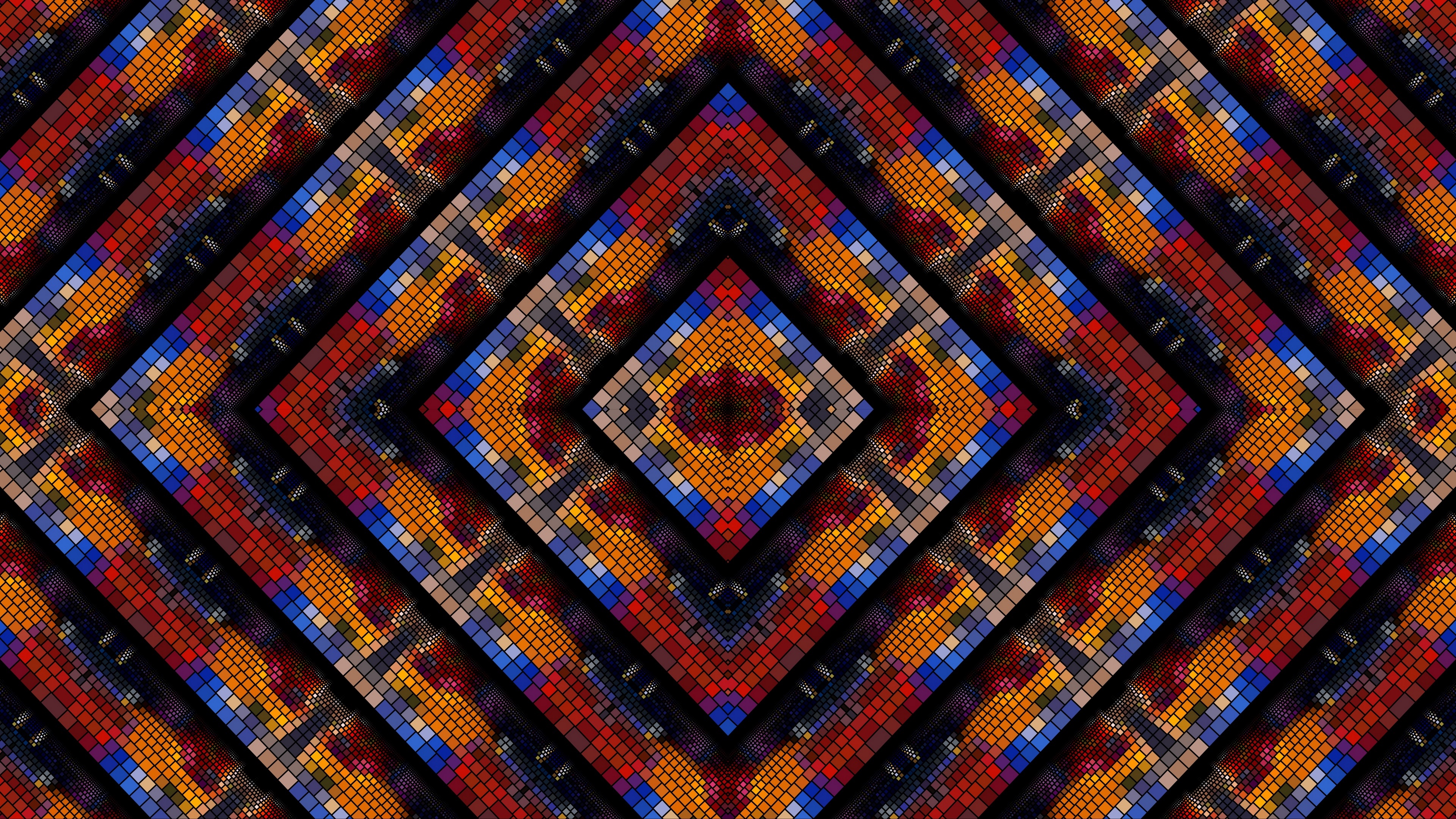 Kaleidoscope fractal wallpaper