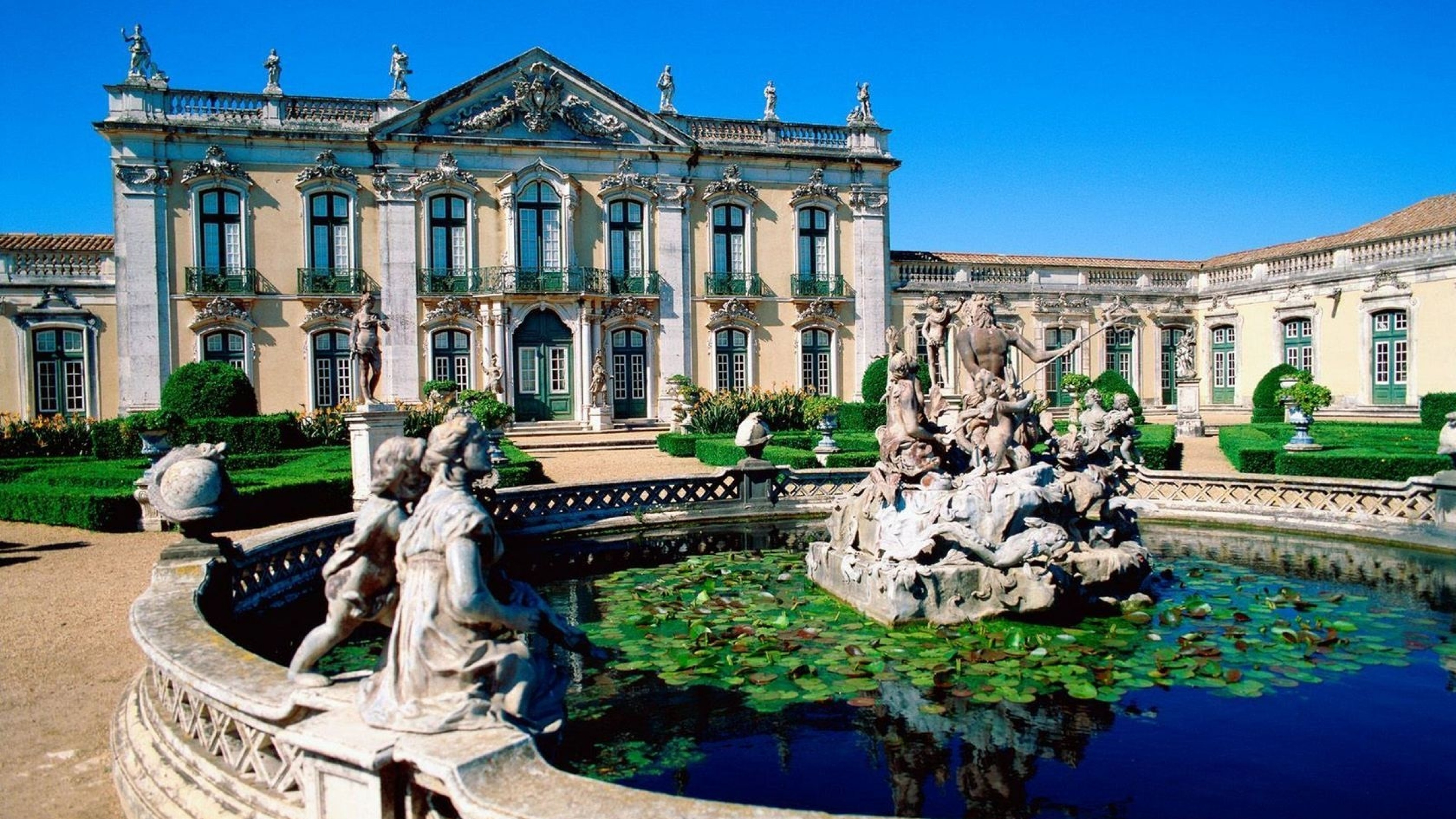 Queluz National Palace (Portugal) wallpaper