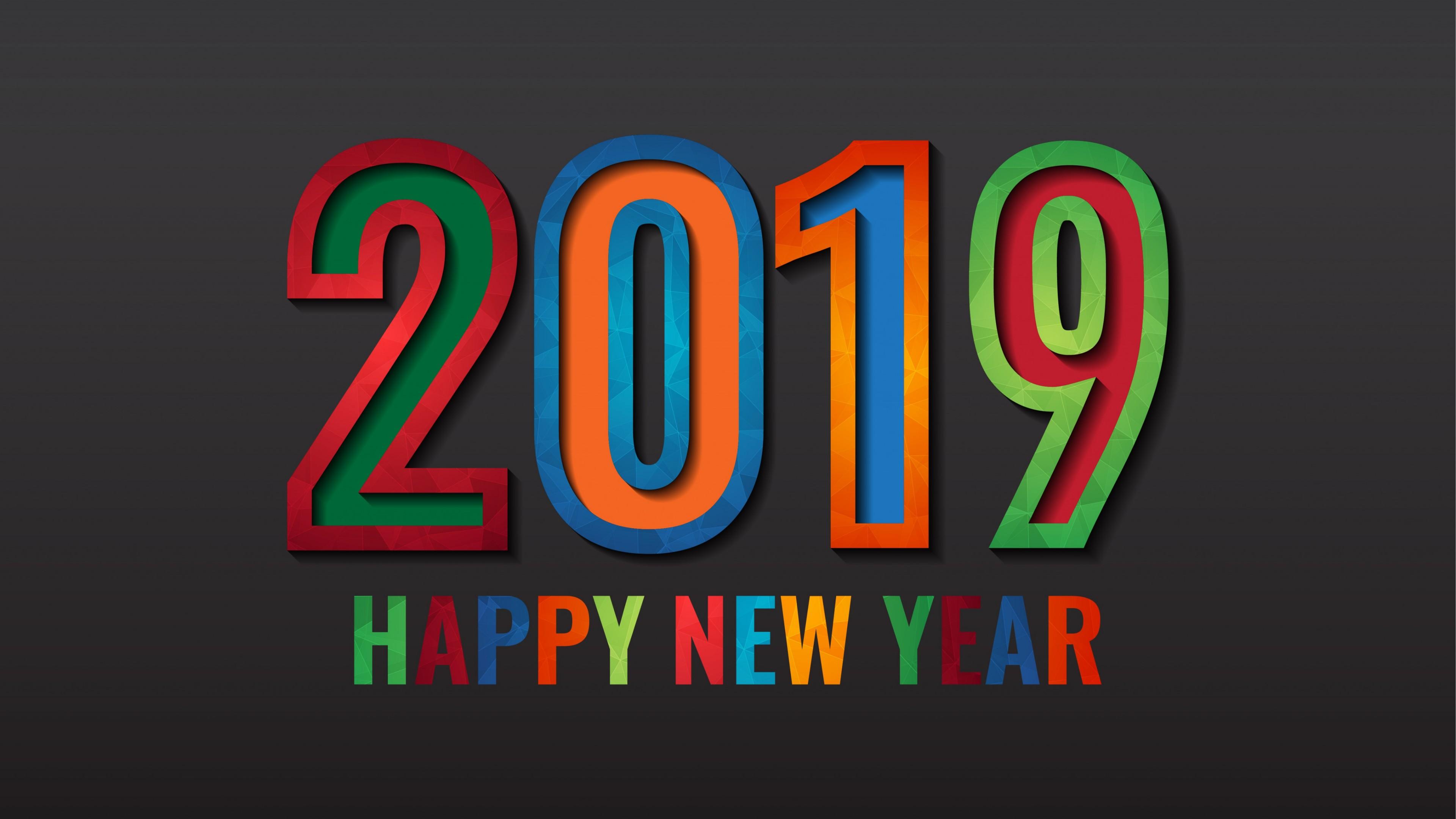 2019 Happy New Year! wallpaper