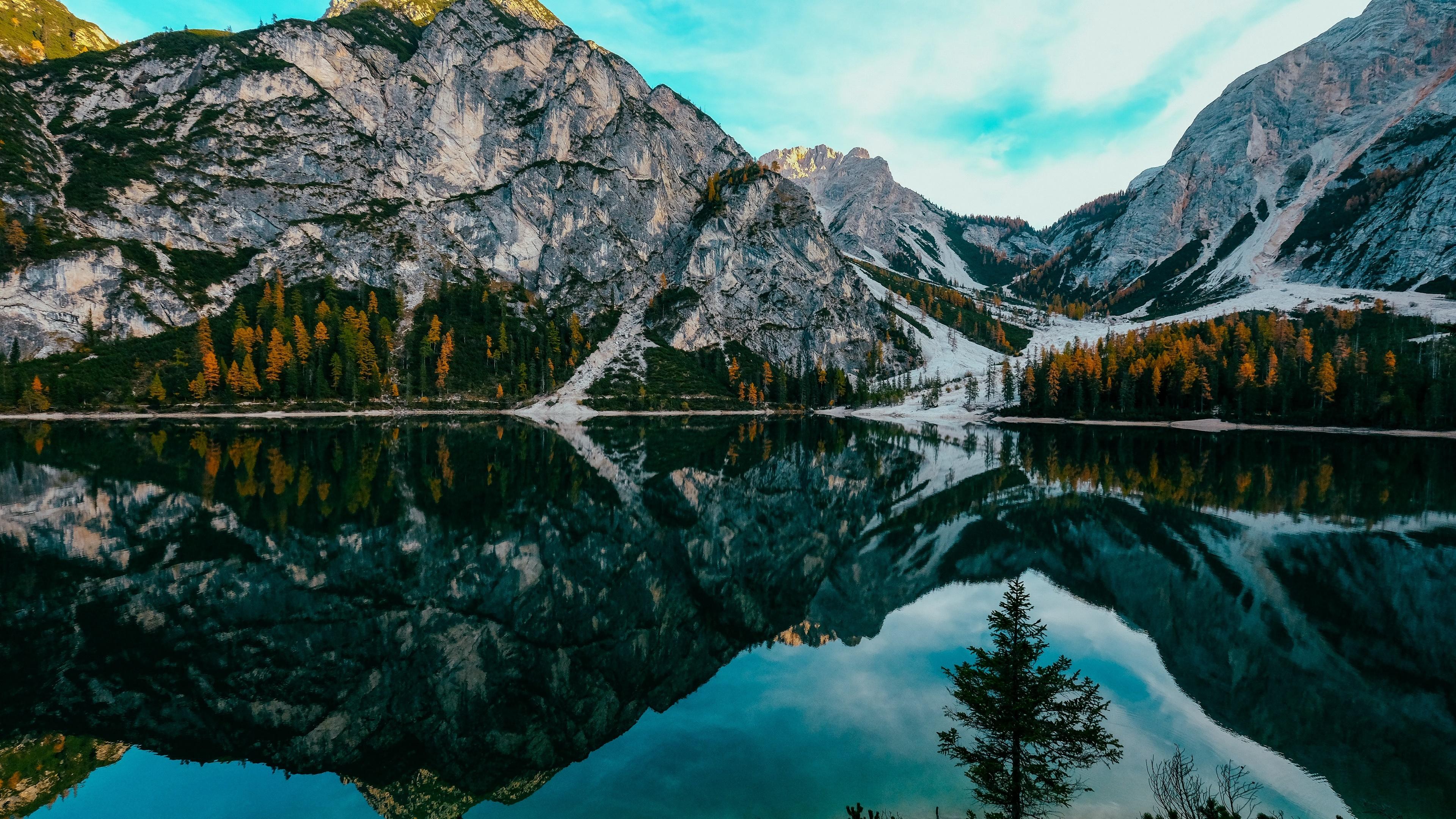 Pragser Wildsee (Prags Dolomites, Italy) 4K UltraHD ...