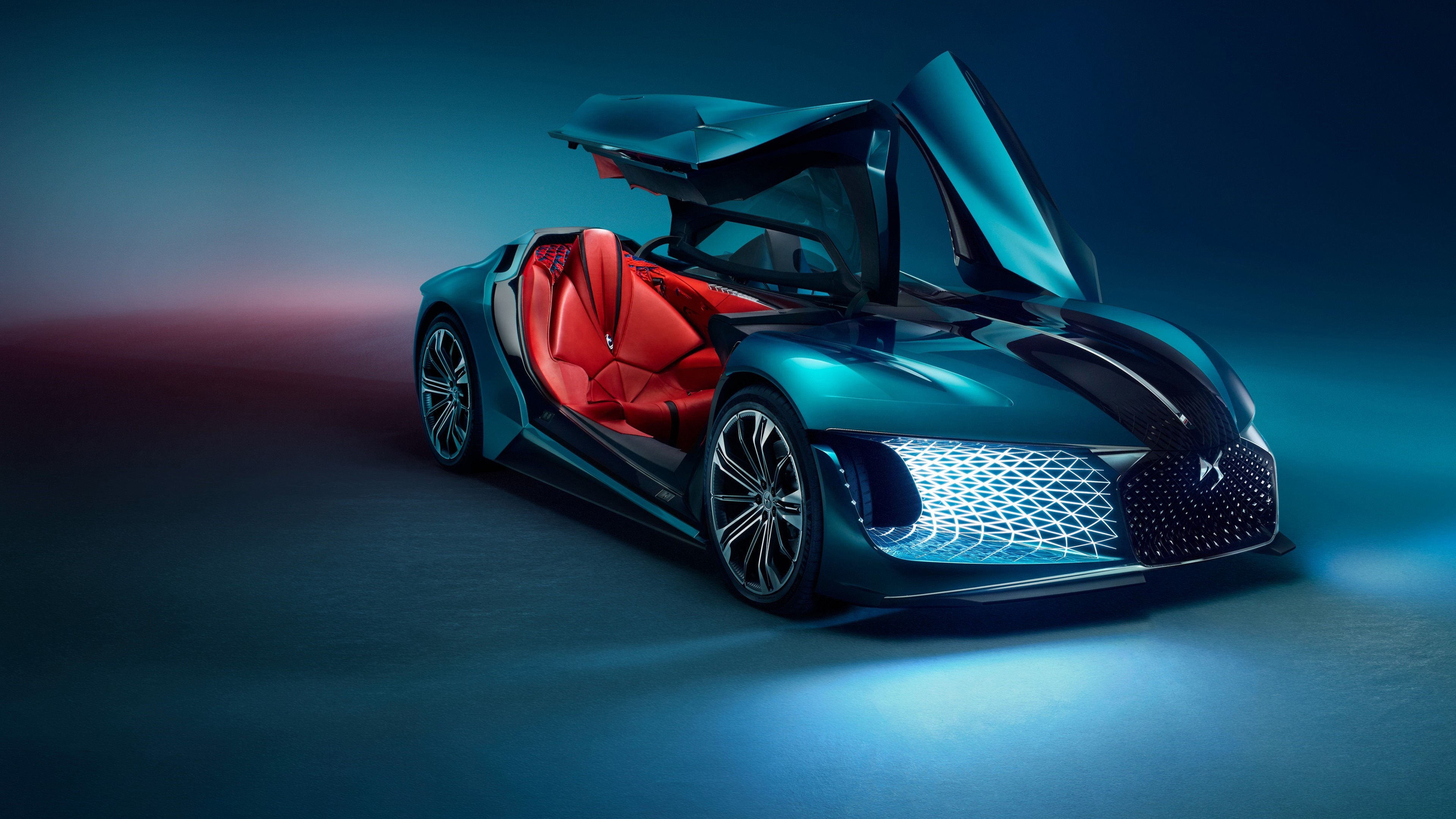 Citroen Ds X E Tense Concept Car 4k Ultrahd Wallpaper Backiee
