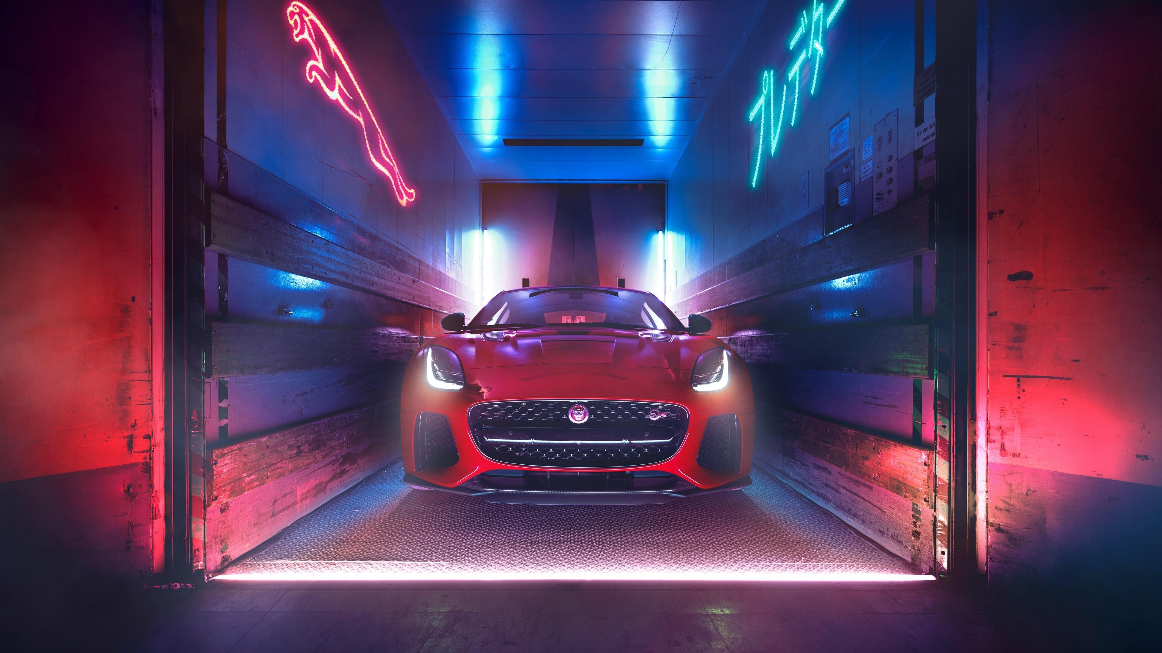 Red Jaguar F Type 4k Ultrahd Wallpaper Backiee Free Ultra Hd