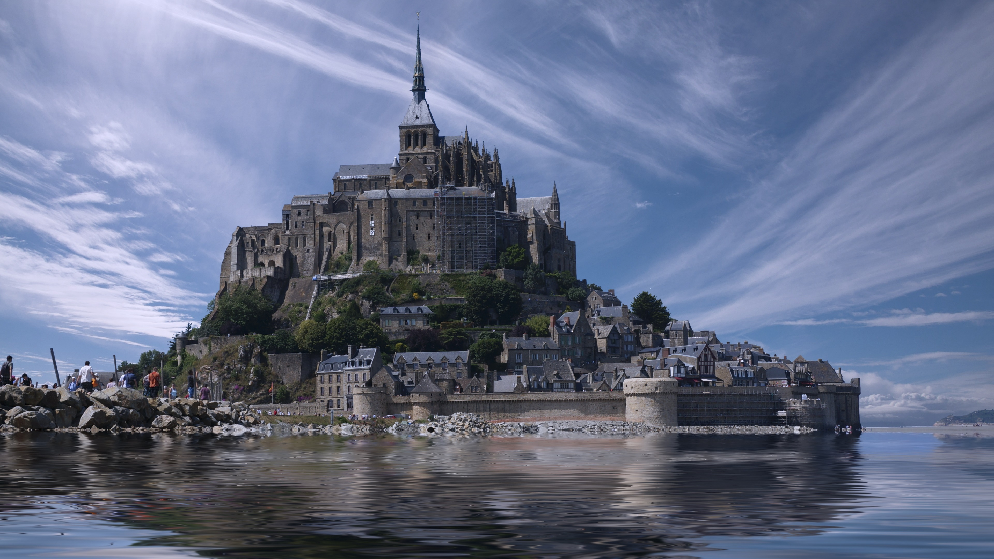 Mont Saint-Michel Monastery wallpaper
