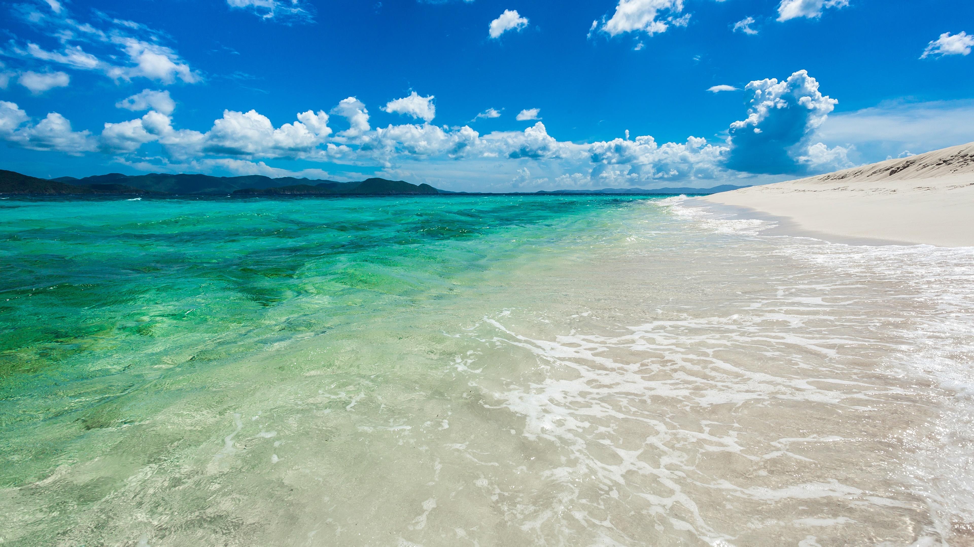 Beautiful beachside in Hawaii wallpaper