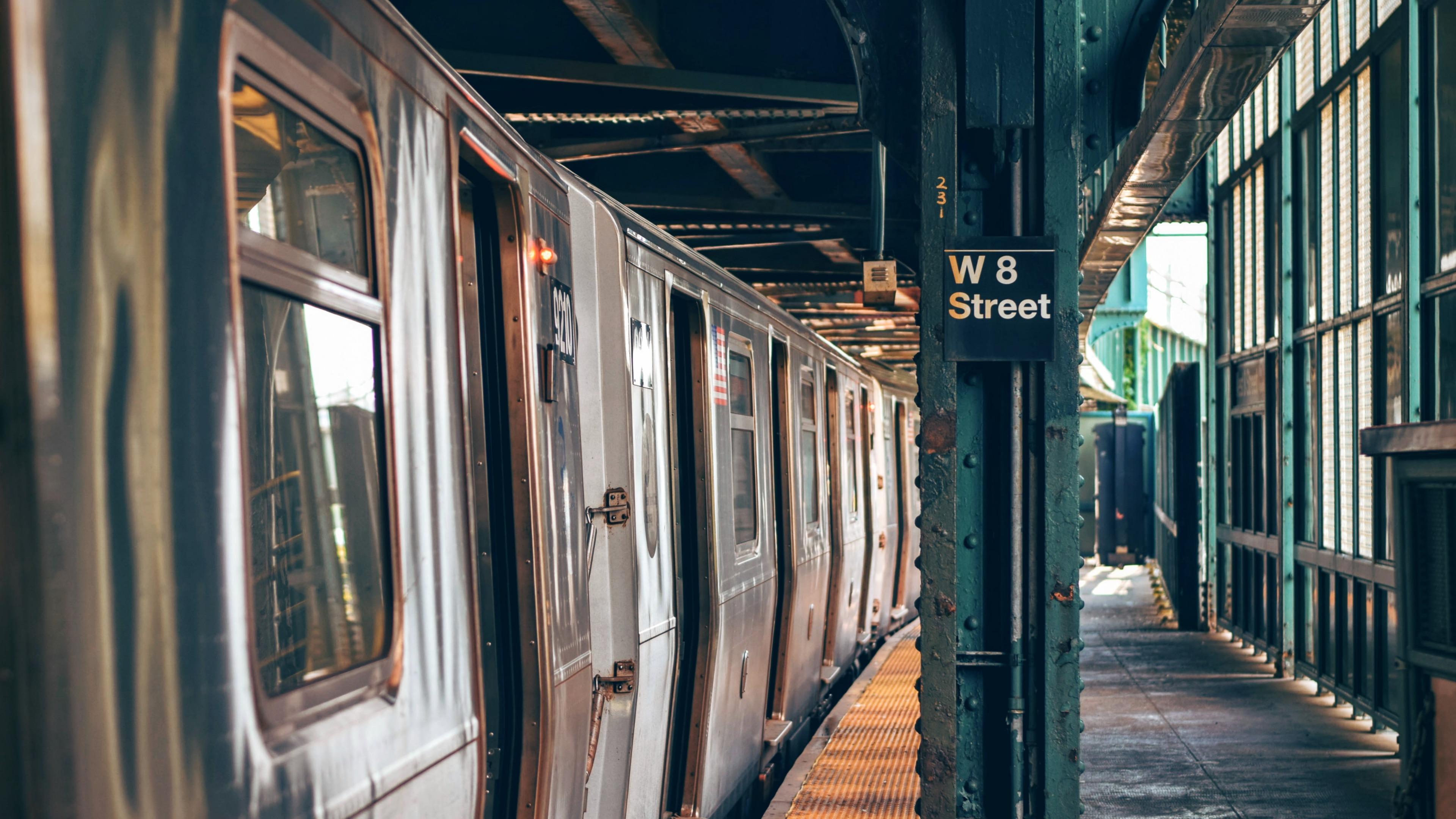 West Eighth Street–New York Aquarium Station wallpaper