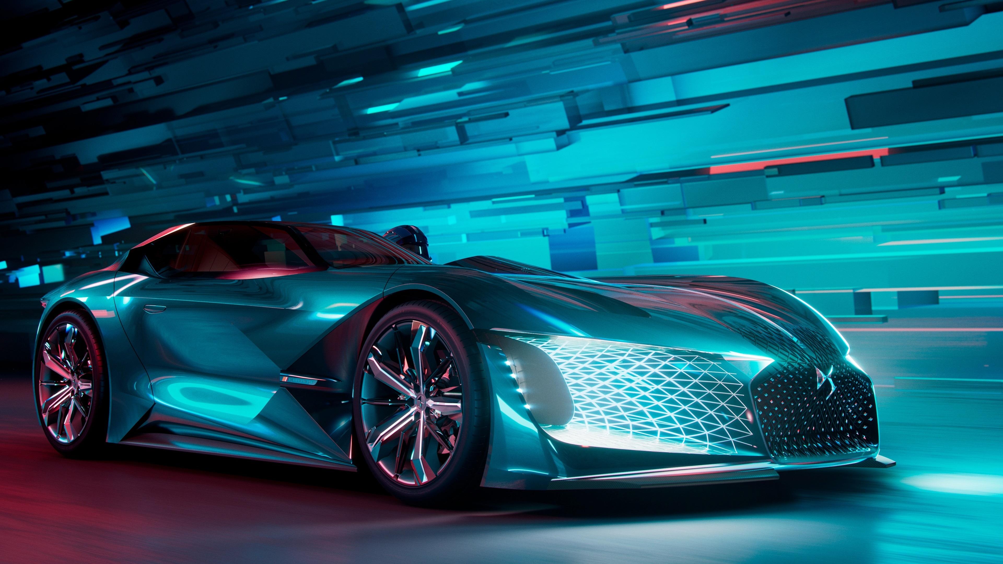 DS X E-Tense Concept Car wallpaper