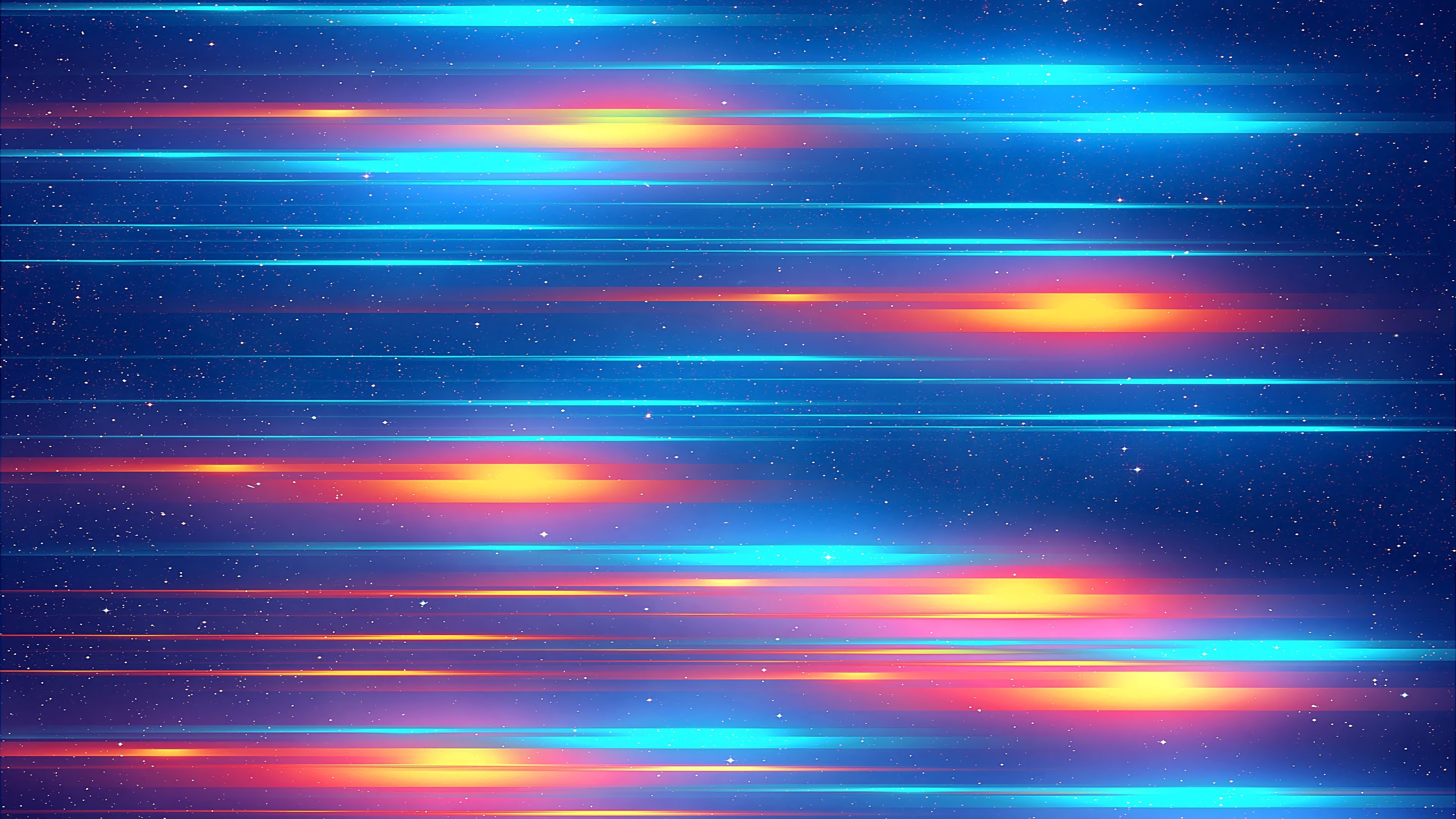 Glowing lines wallpaper