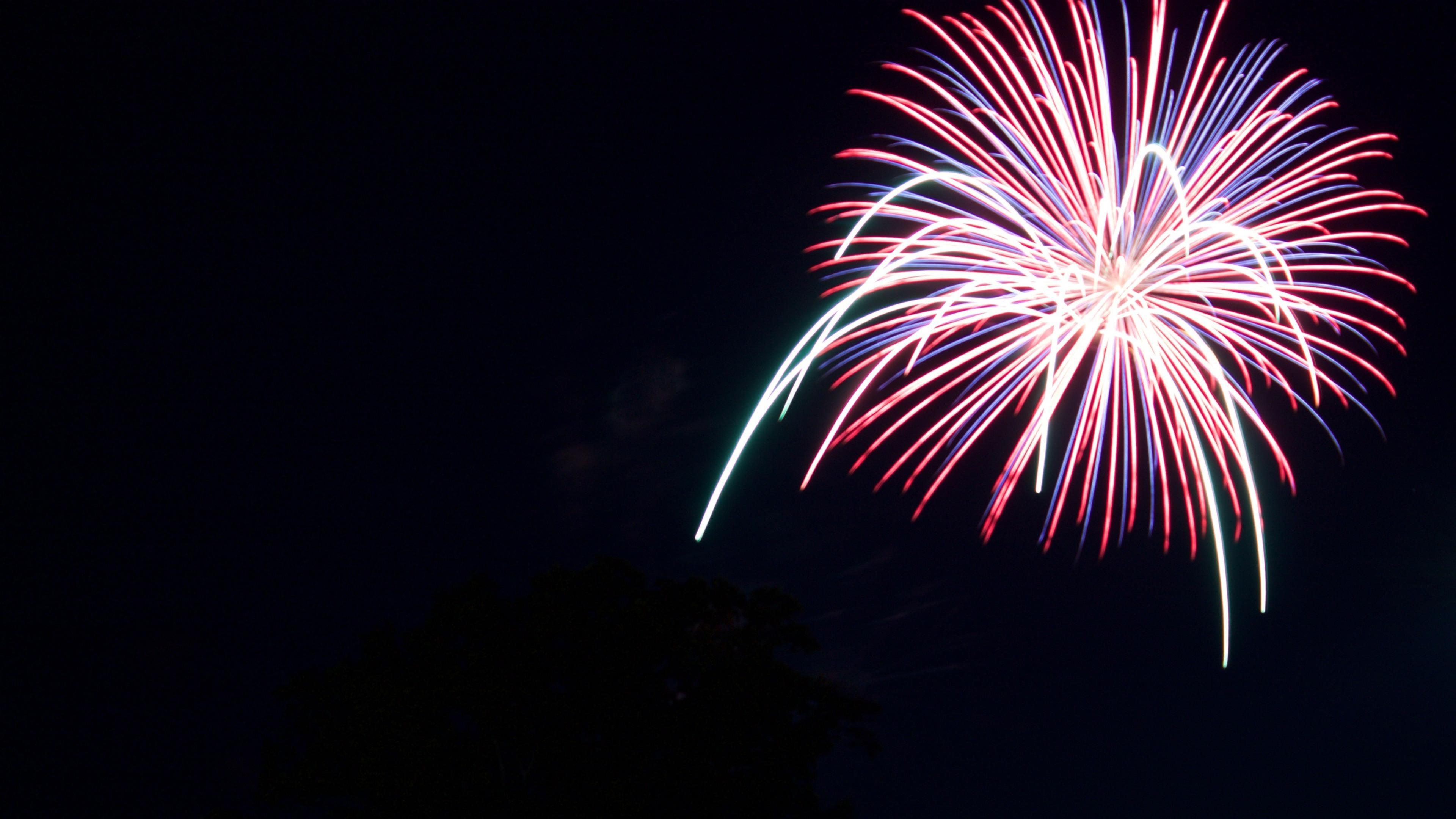 Firework on July 4 wallpaper