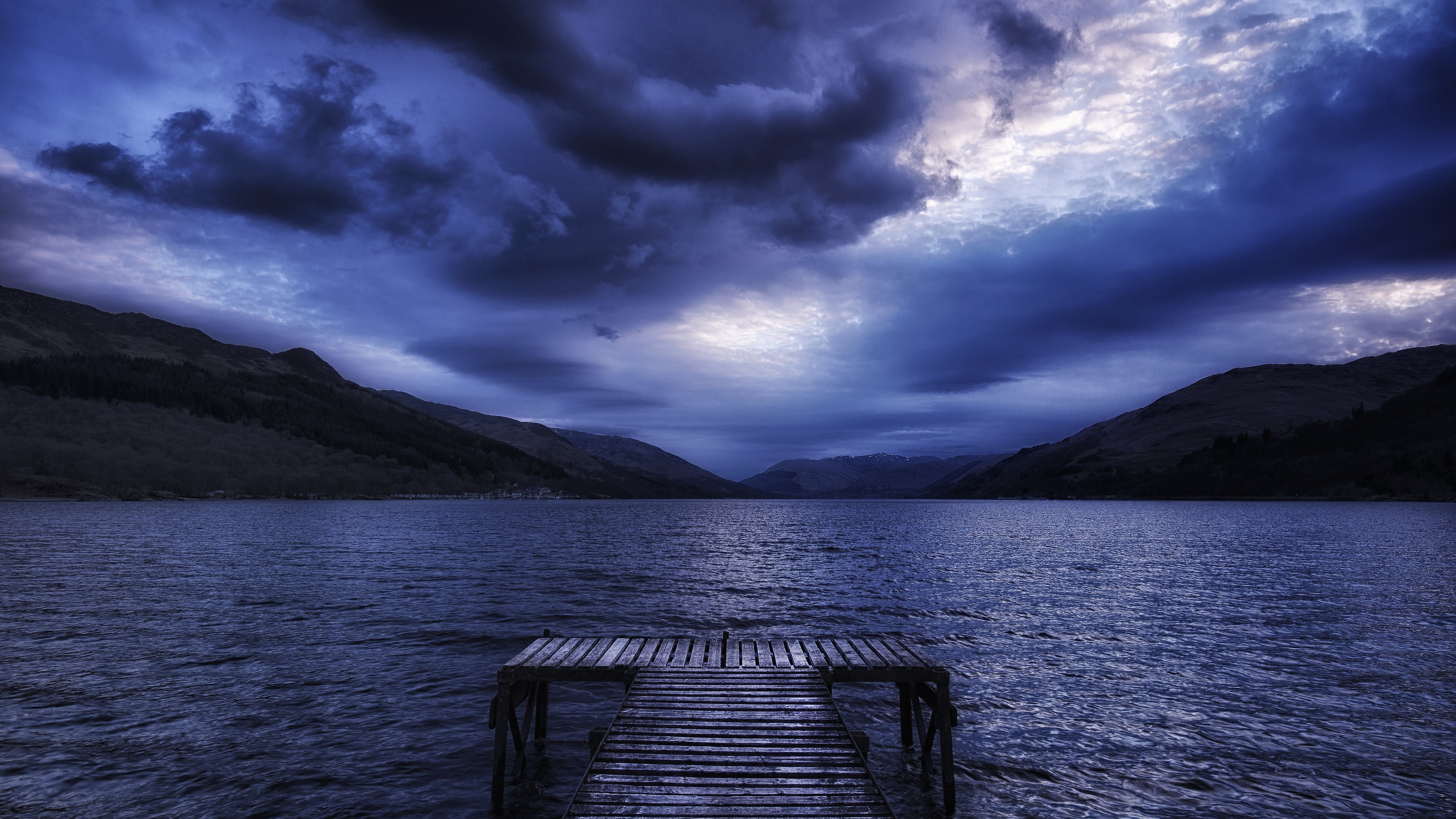 Stormy day wallpaper
