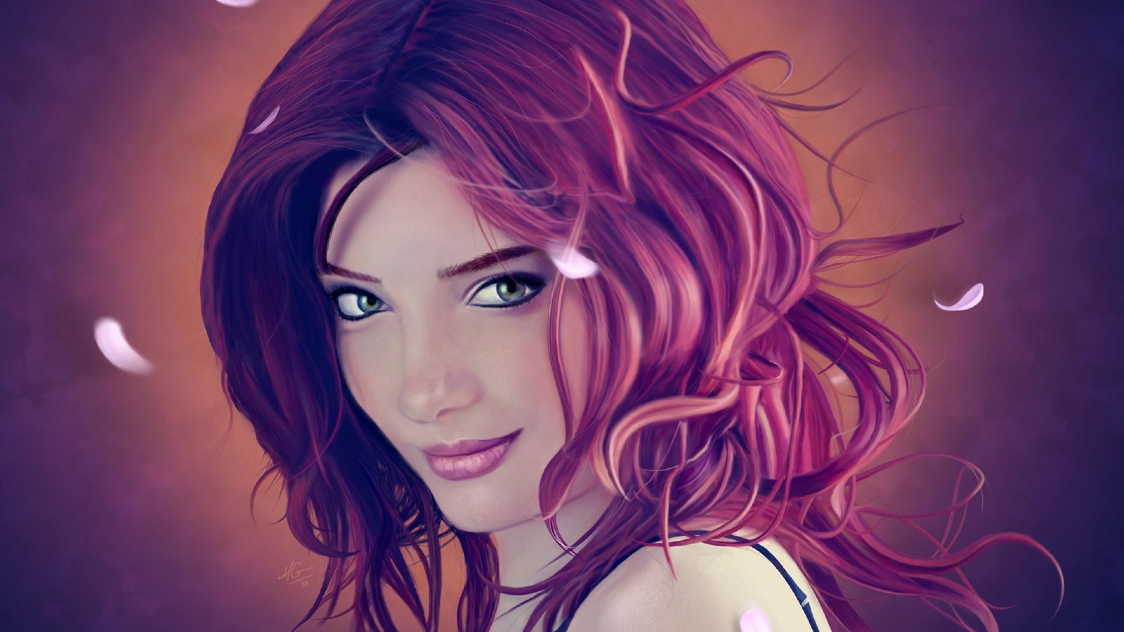 Fairytale girl wallpaper