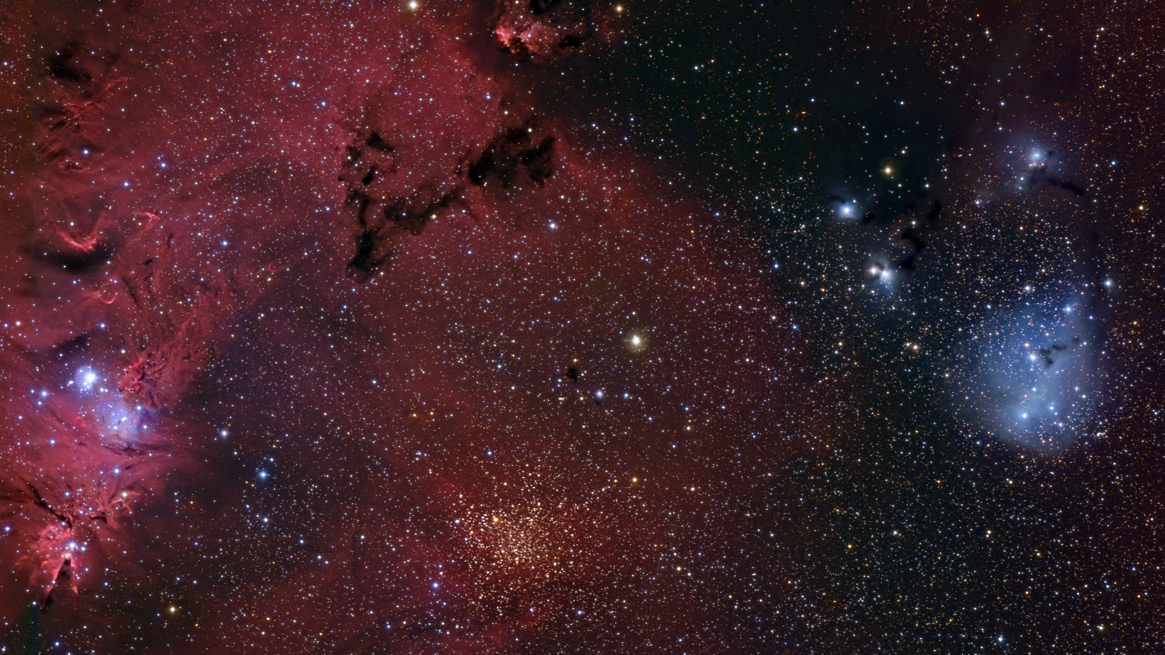 The Cone Nebula and IC 2169 Region wallpaper