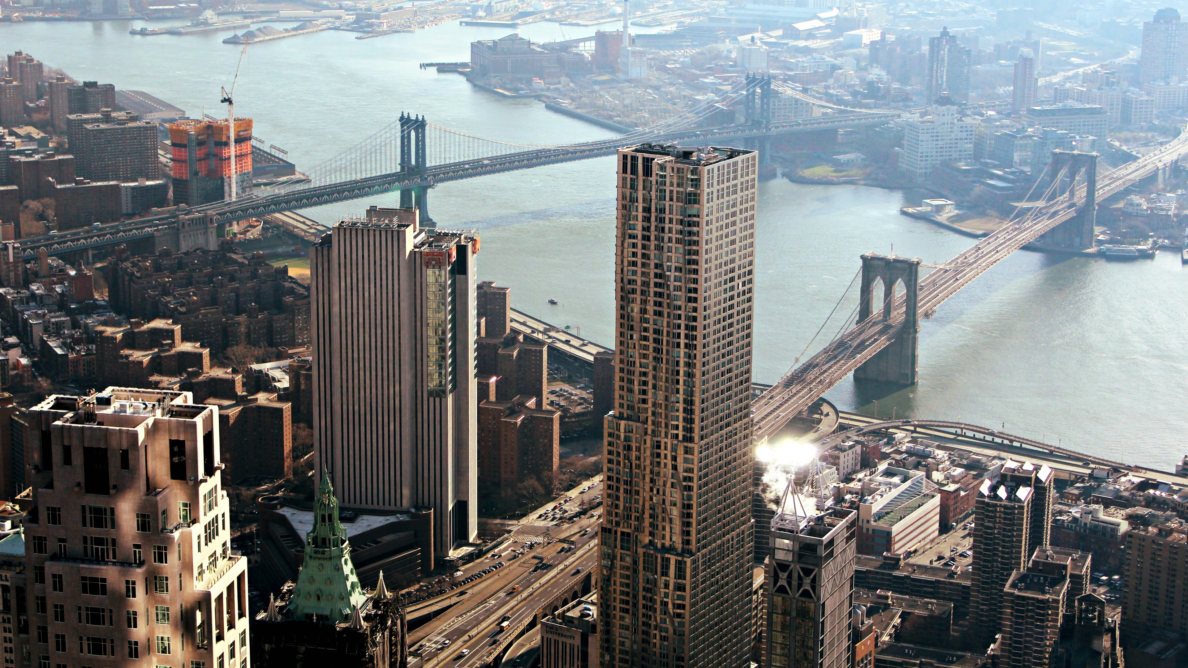 New York City and Brooklyn wallpaper