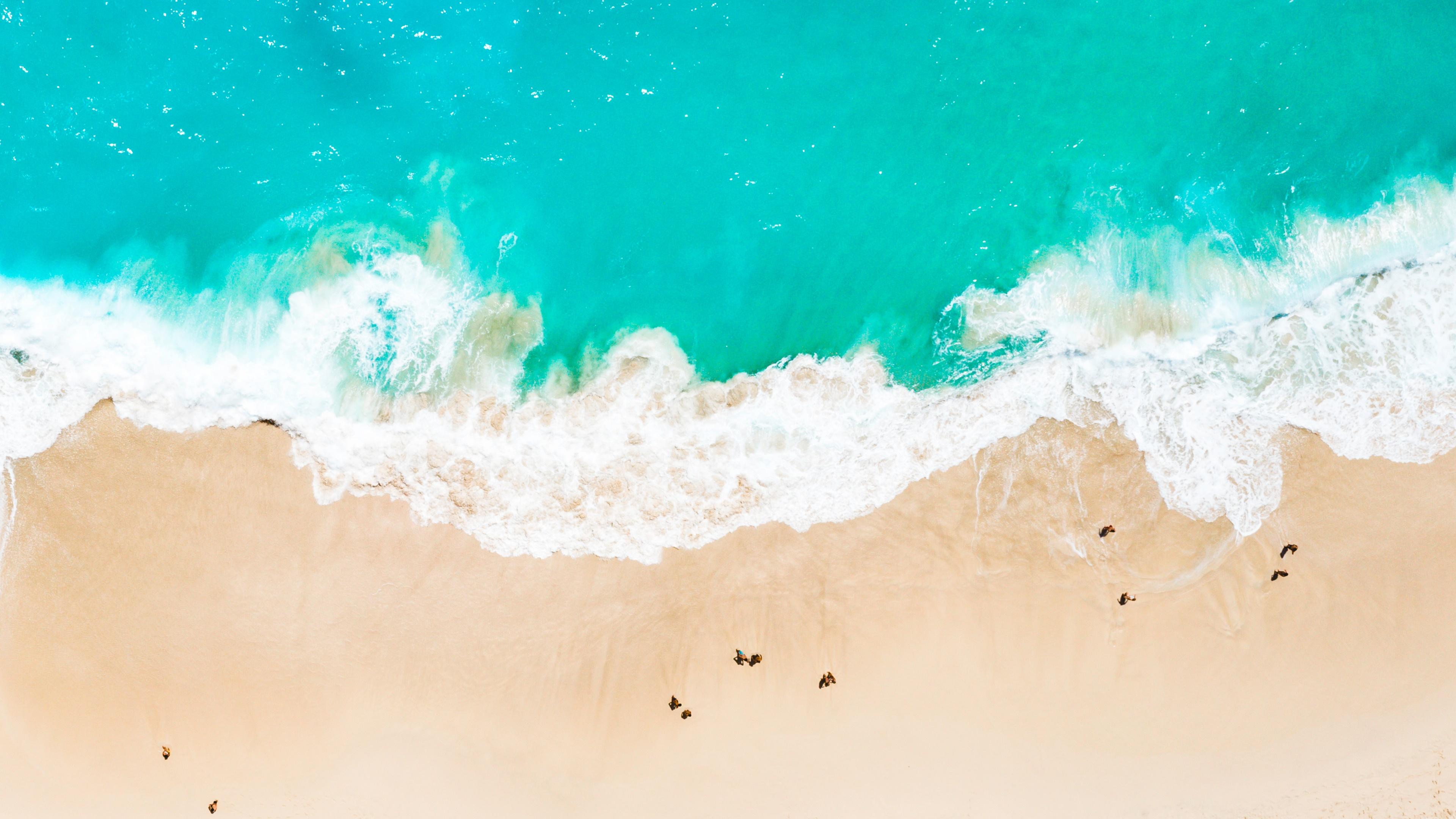 Waves, seaside, beach wallpaper