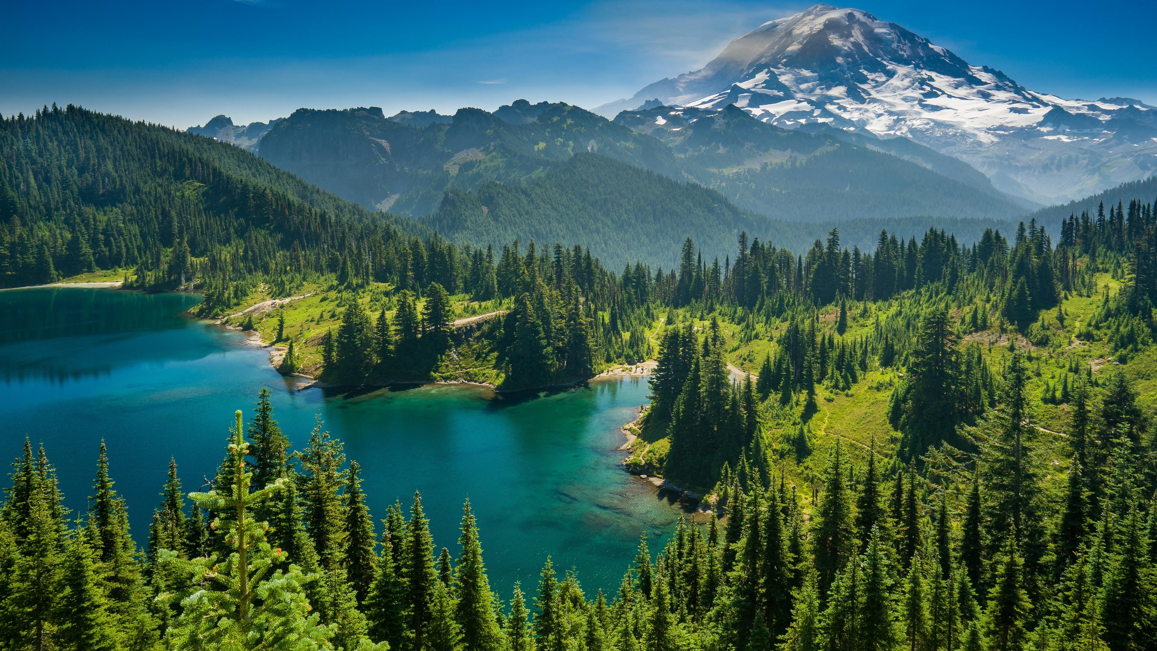 Mount Rainier National Park wallpaper