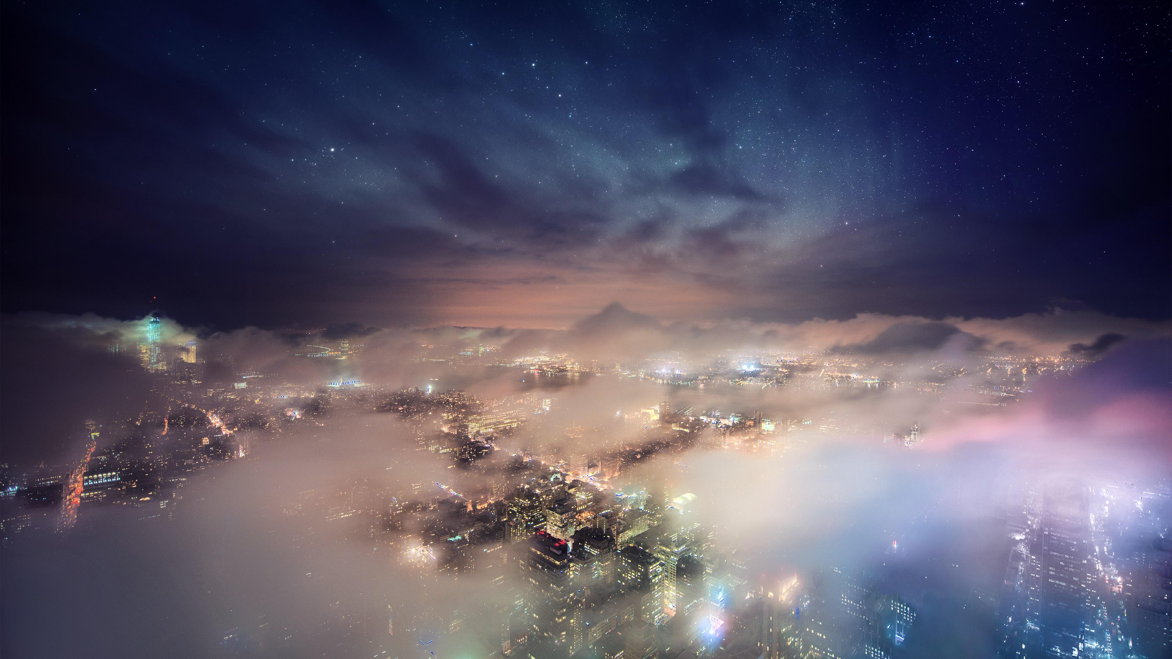 Amazing New York City view wallpaper