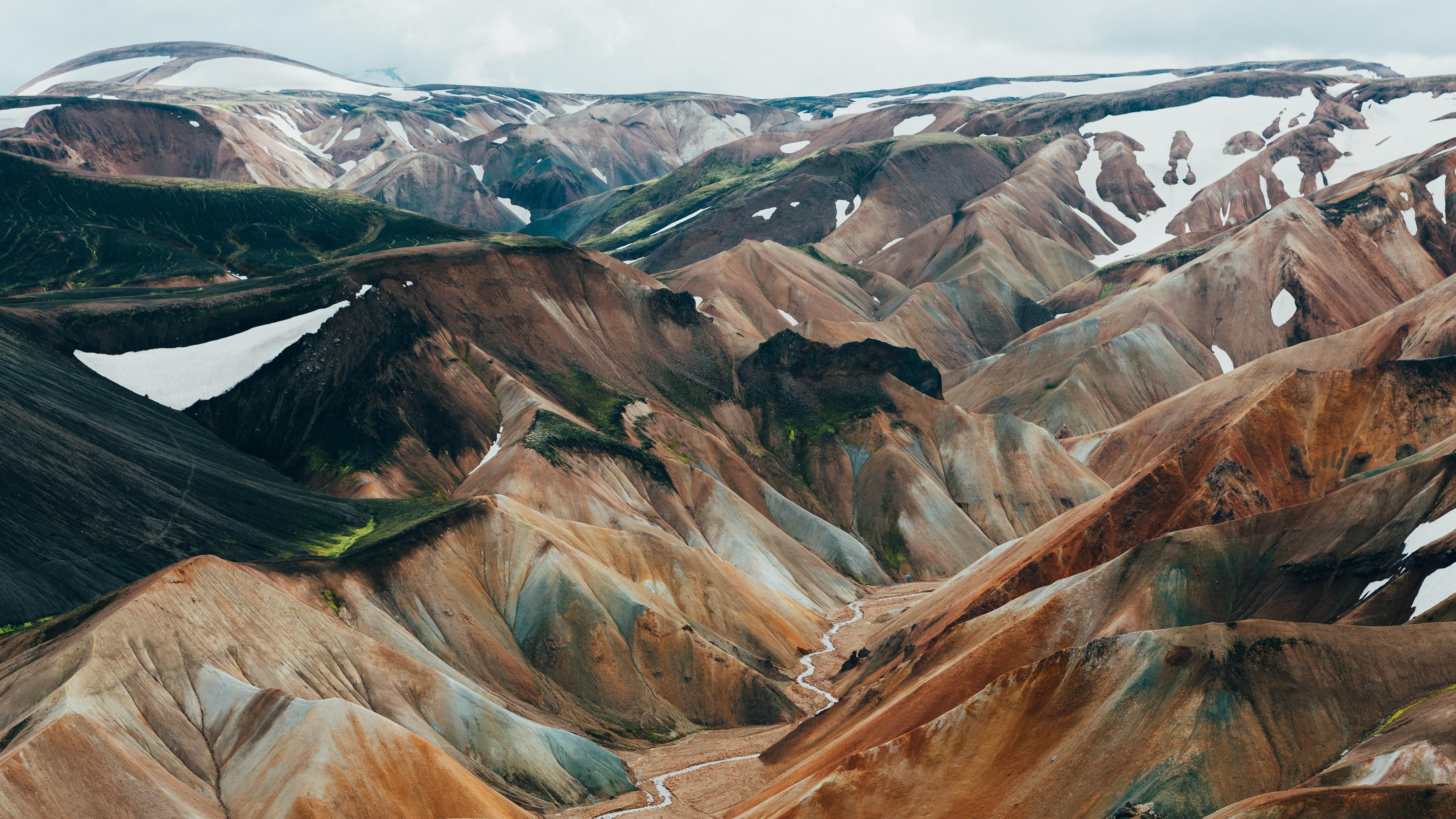 Landmannalaugar valley, Friðland að Fjallabaki wallpaper