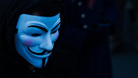 Anonymous hacker wallpaper