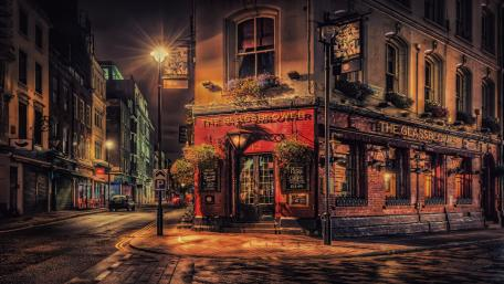 The Glassblower Pub, London wallpaper