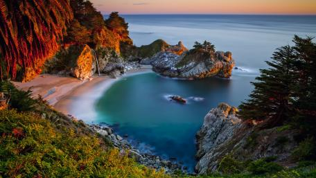 Julia Pfeiffer Burns State Park, McWay Falls wallpaper
