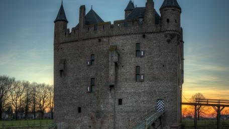 Doornenburg Castle wallpaper