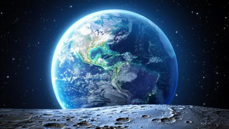 Earth from moon 🌎🌕 wallpaper