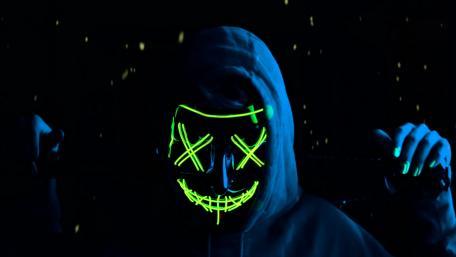 XX masked girl wallpaper