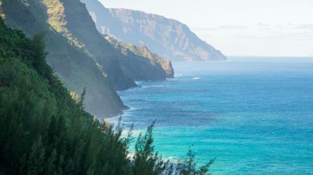 Hawaiian coastline wallpaper