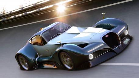 Bugatti 12.4 Atlantique Concept  wallpaper