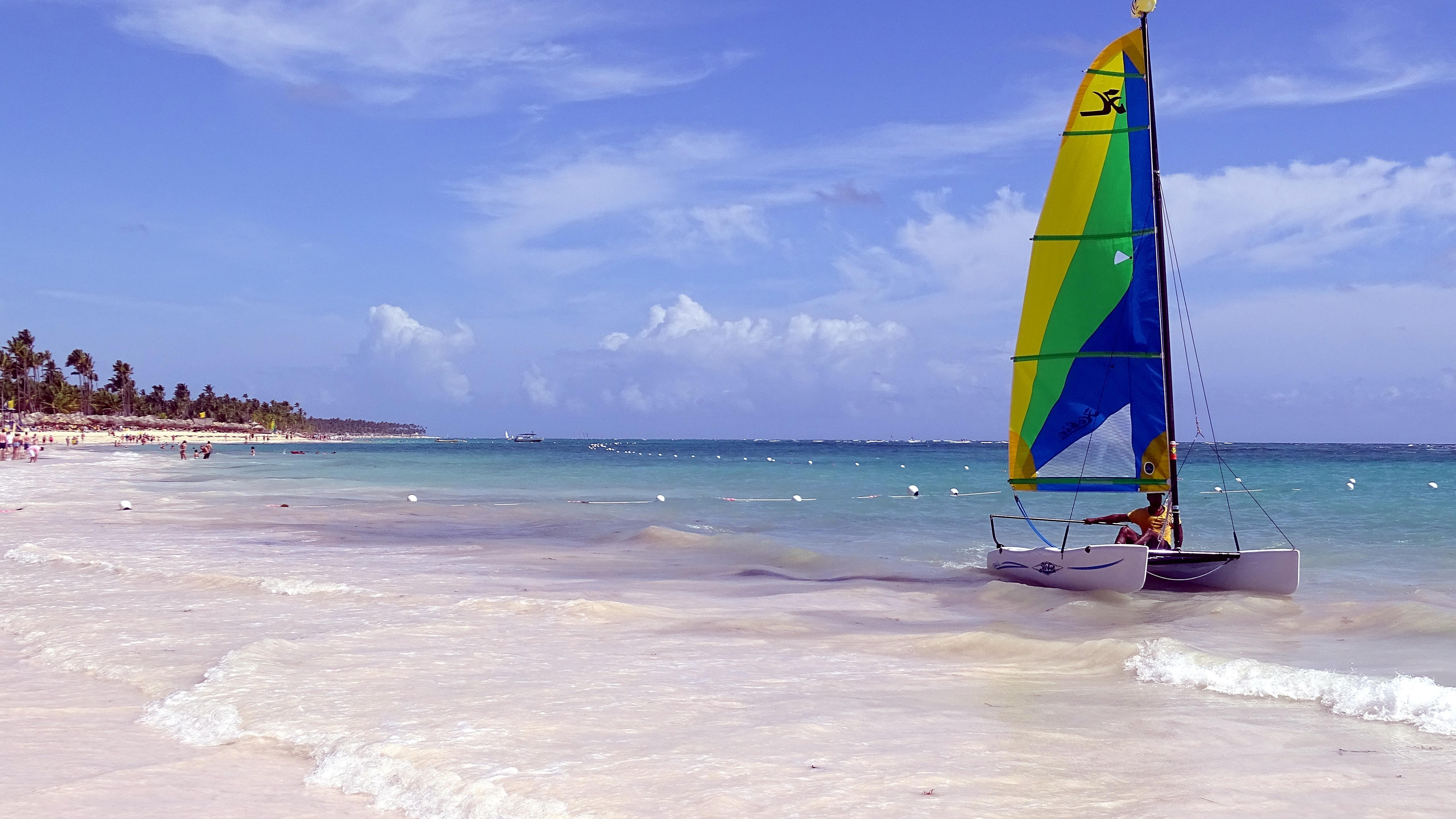 Beach of Punta Cana wallpaper