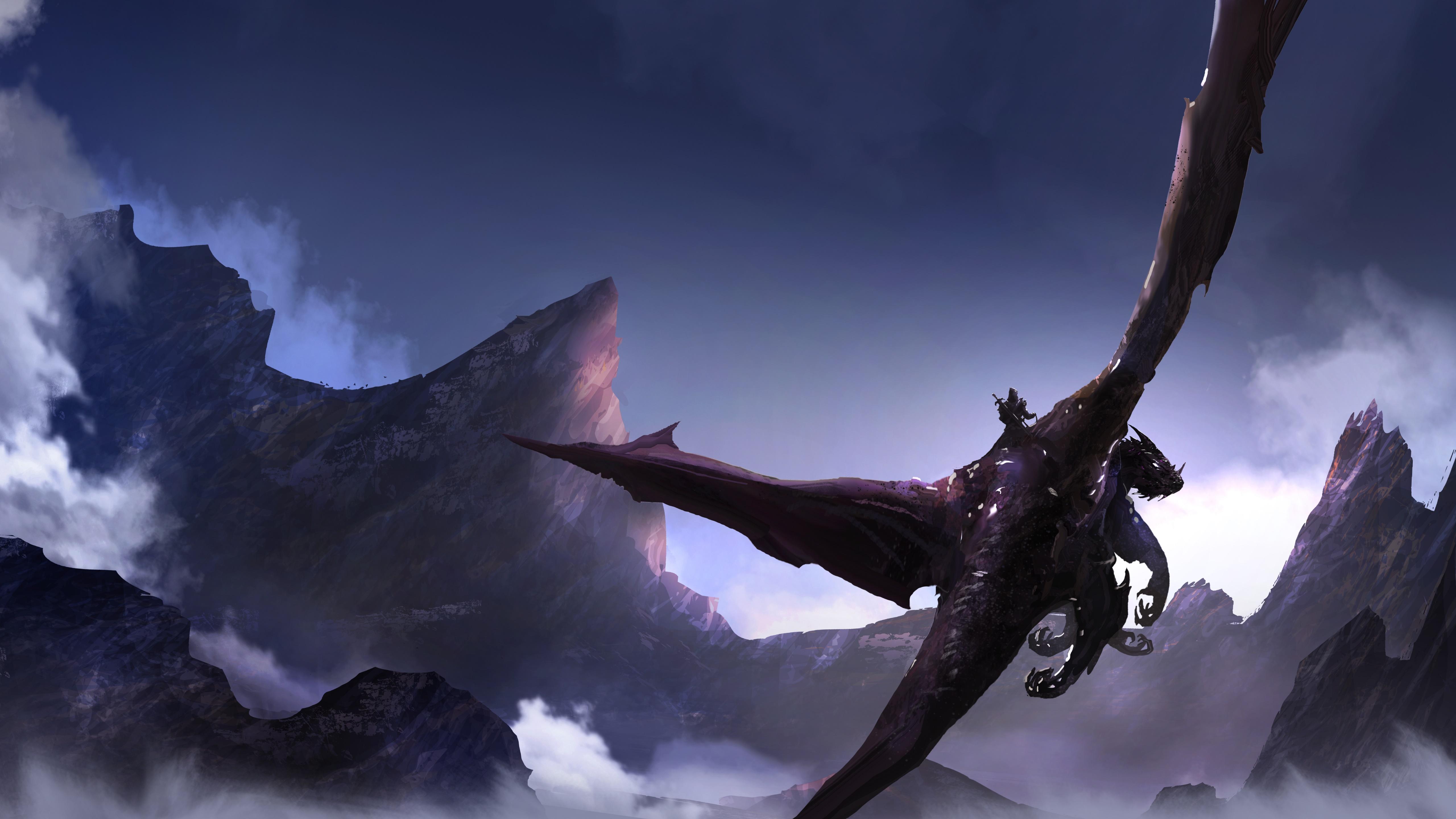 Dragon rider wallpaper