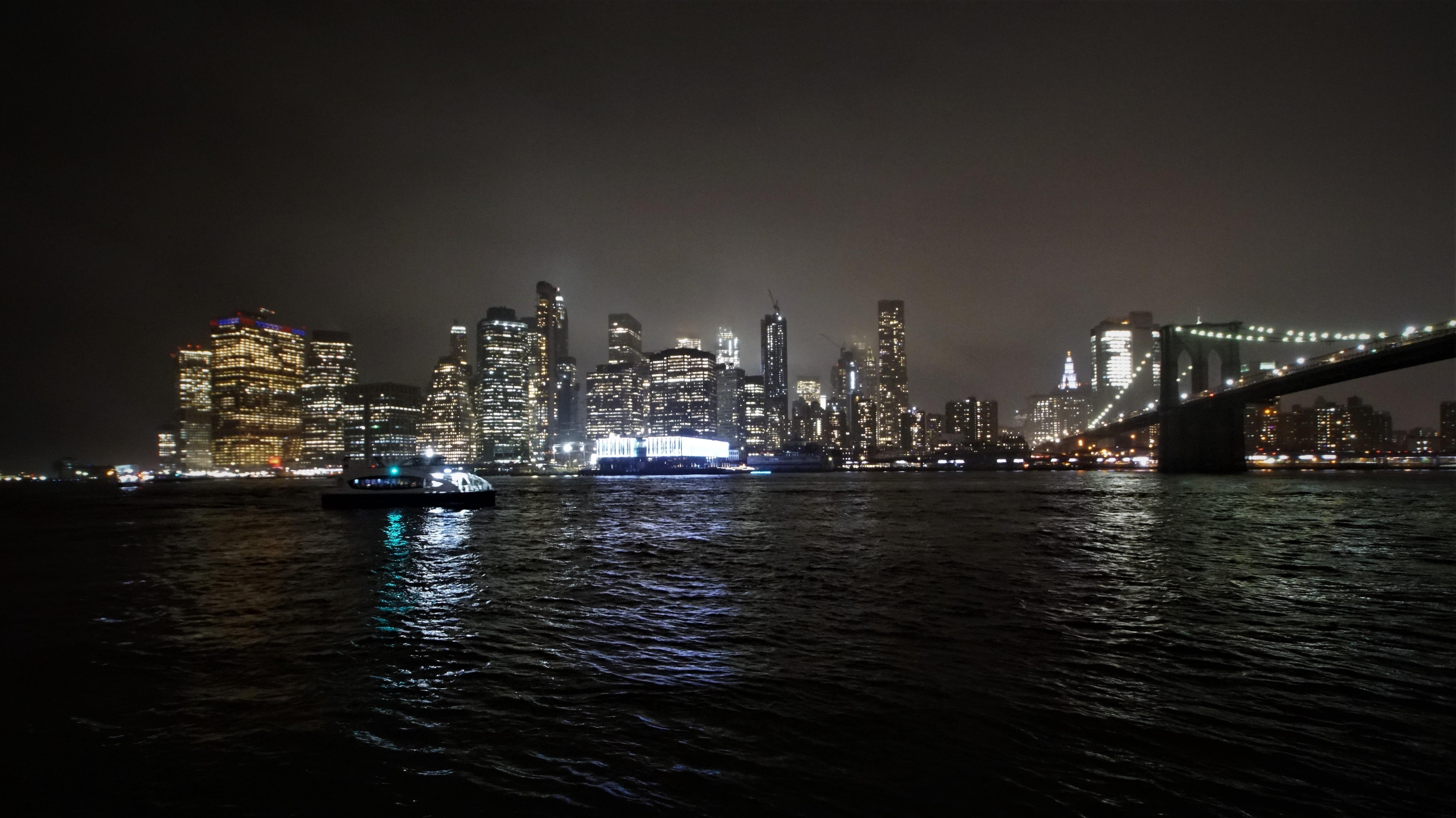 Stadt bei Nacht wallpaper