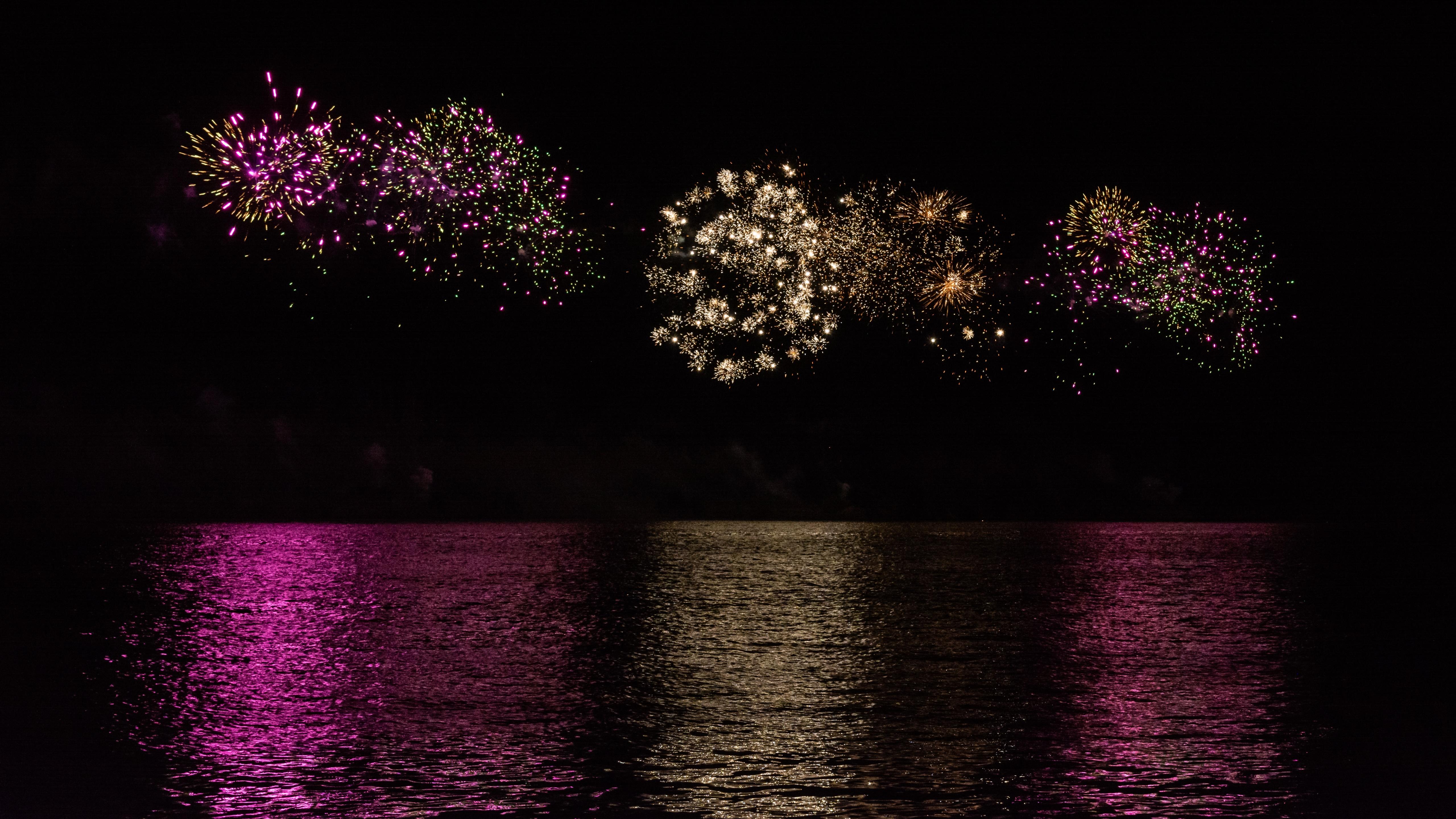 Fireworks at the International Horticultural Fair in Tulln wallpaper