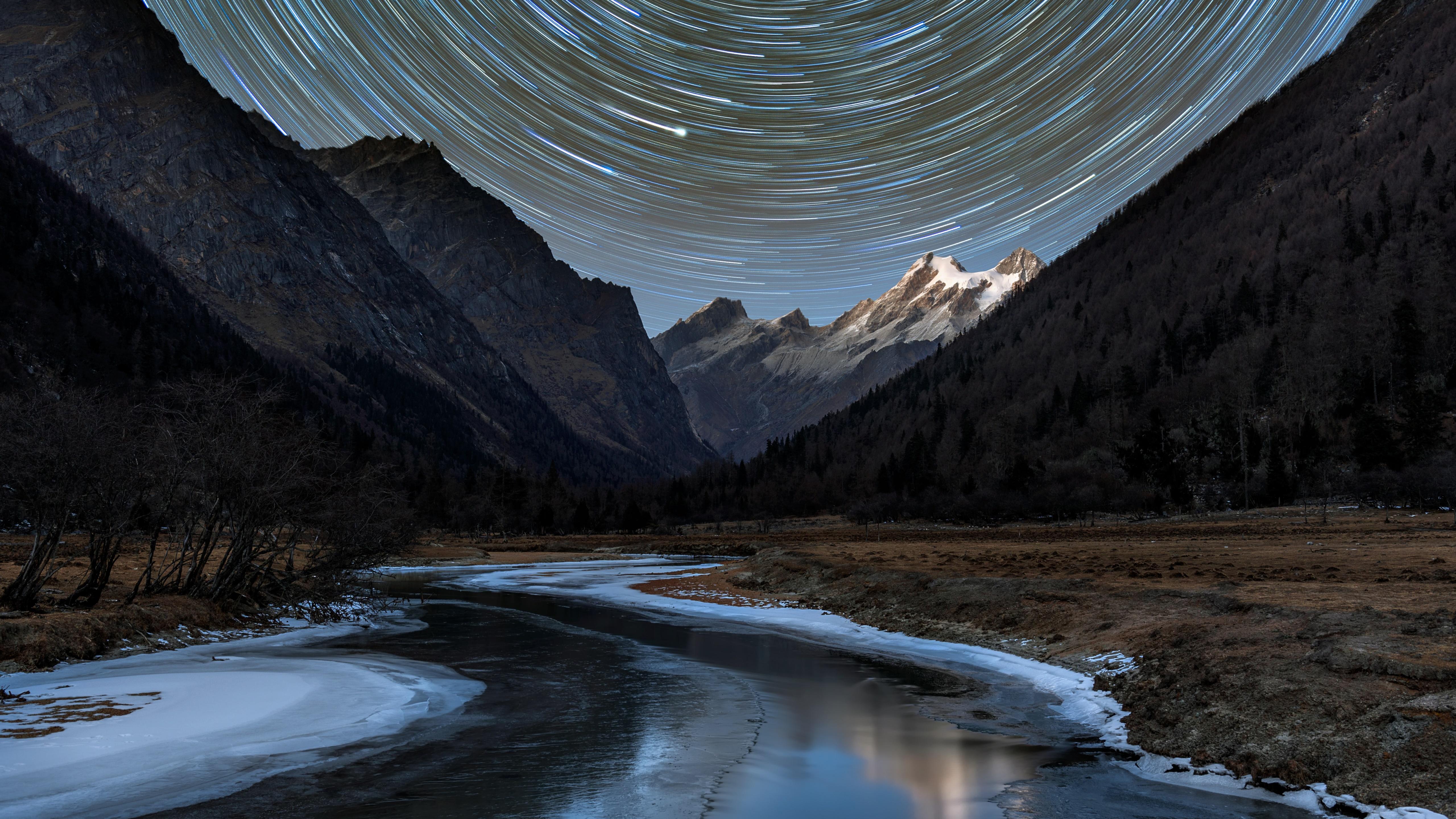 Jiuzhai Valley, Sichuan wallpaper