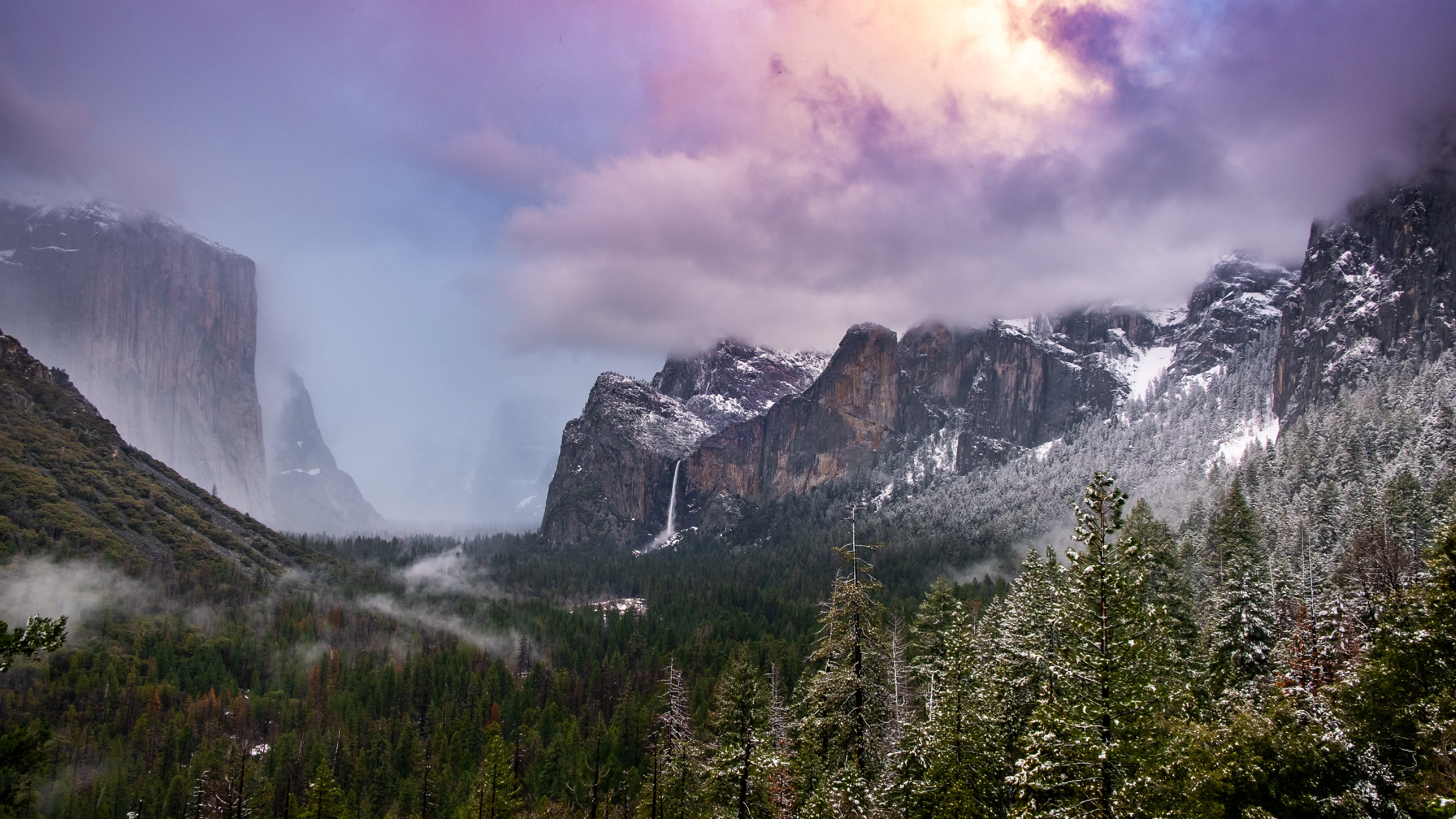 Yosemite Tunnel View wallpaper
